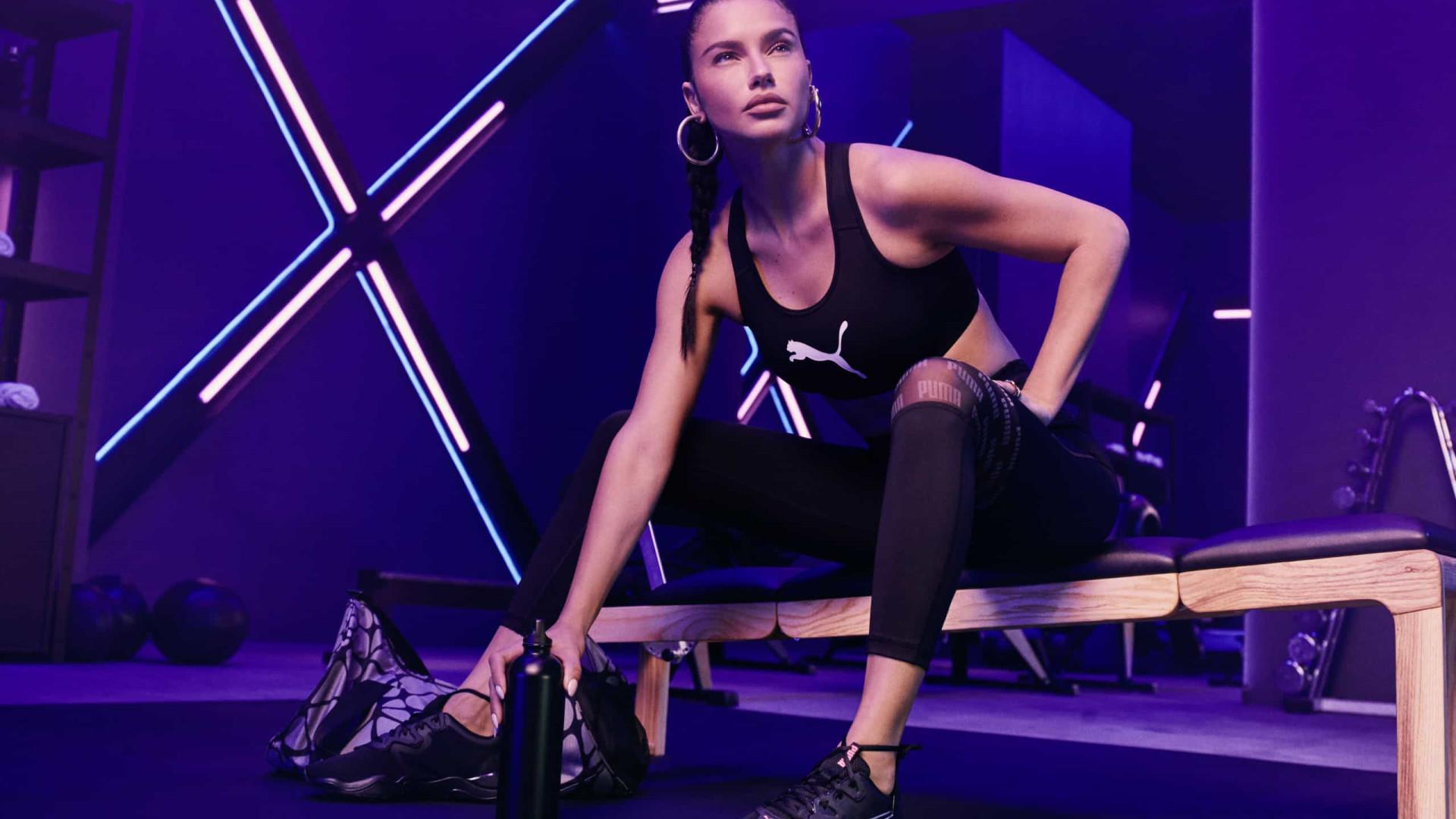 PUMA Zone XT com Adriana Lima, convida-o a testar os seus limites