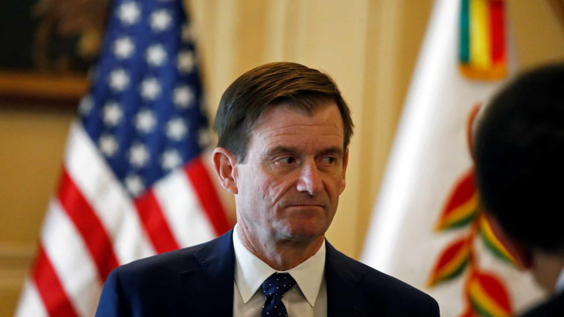 EUA vão nomear embaixador para a Bolívia após saída de Evo Morales