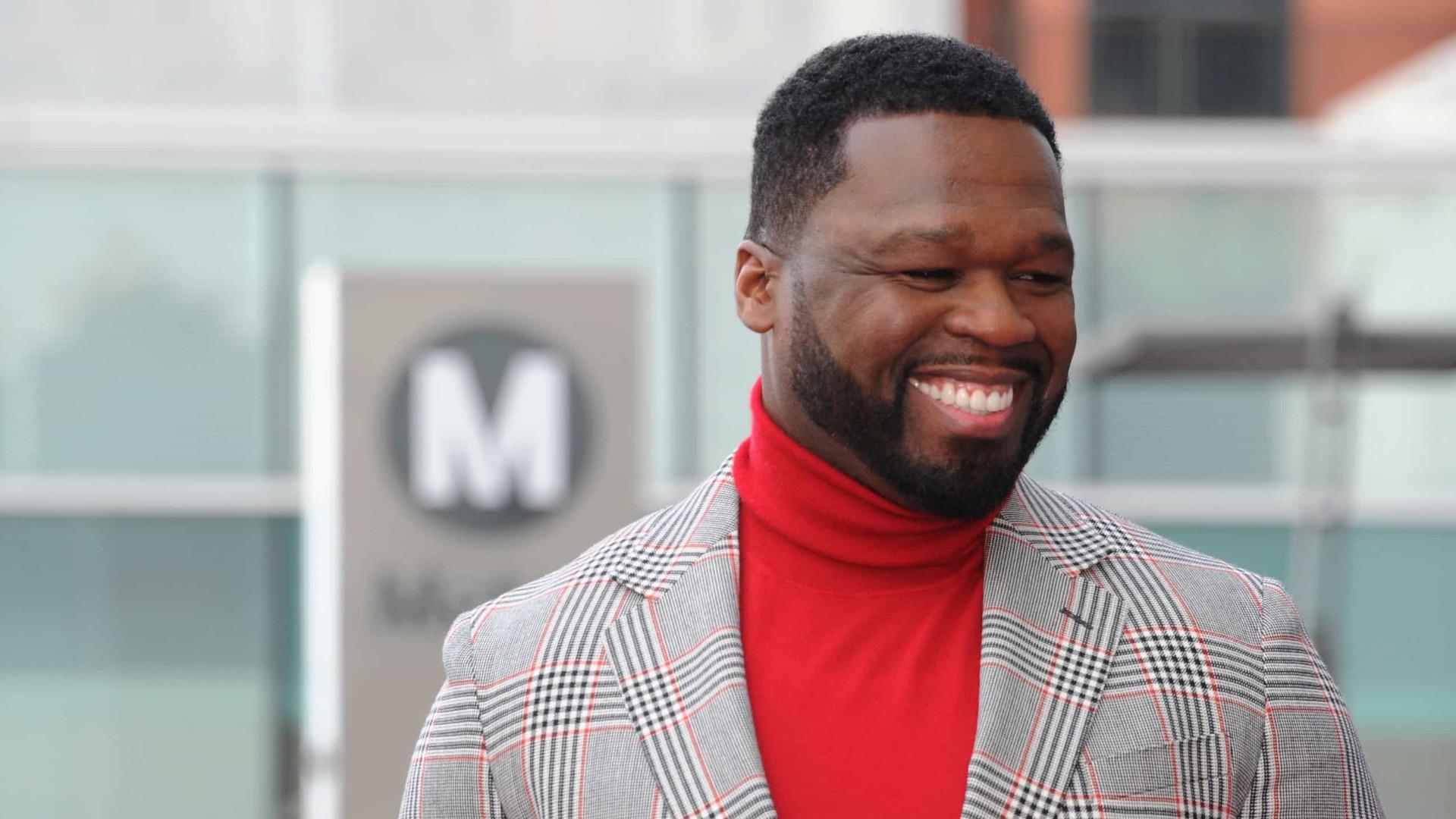 Finalmente conseguiu: 50 Cent já tem a sua estrela no Passeio da Fama