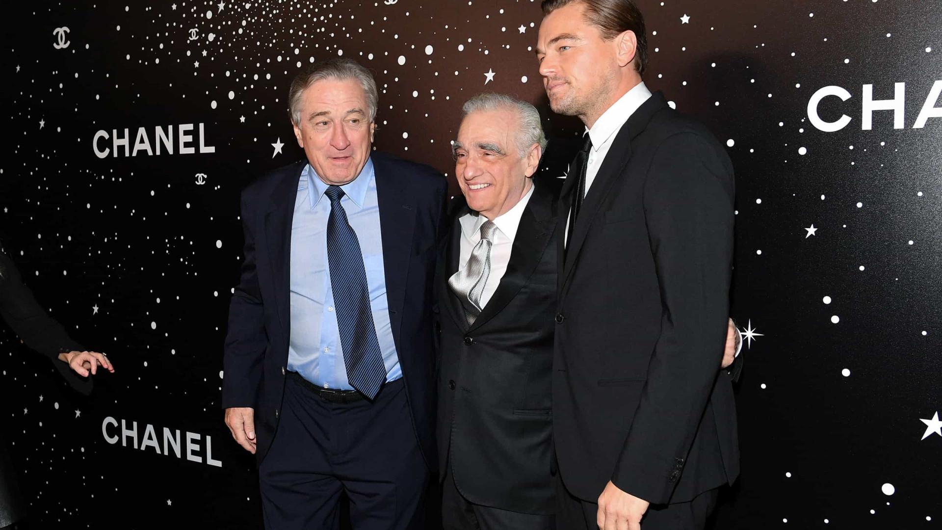 O primeiro western de Scorsese vai contar com De Niro e DiCaprio