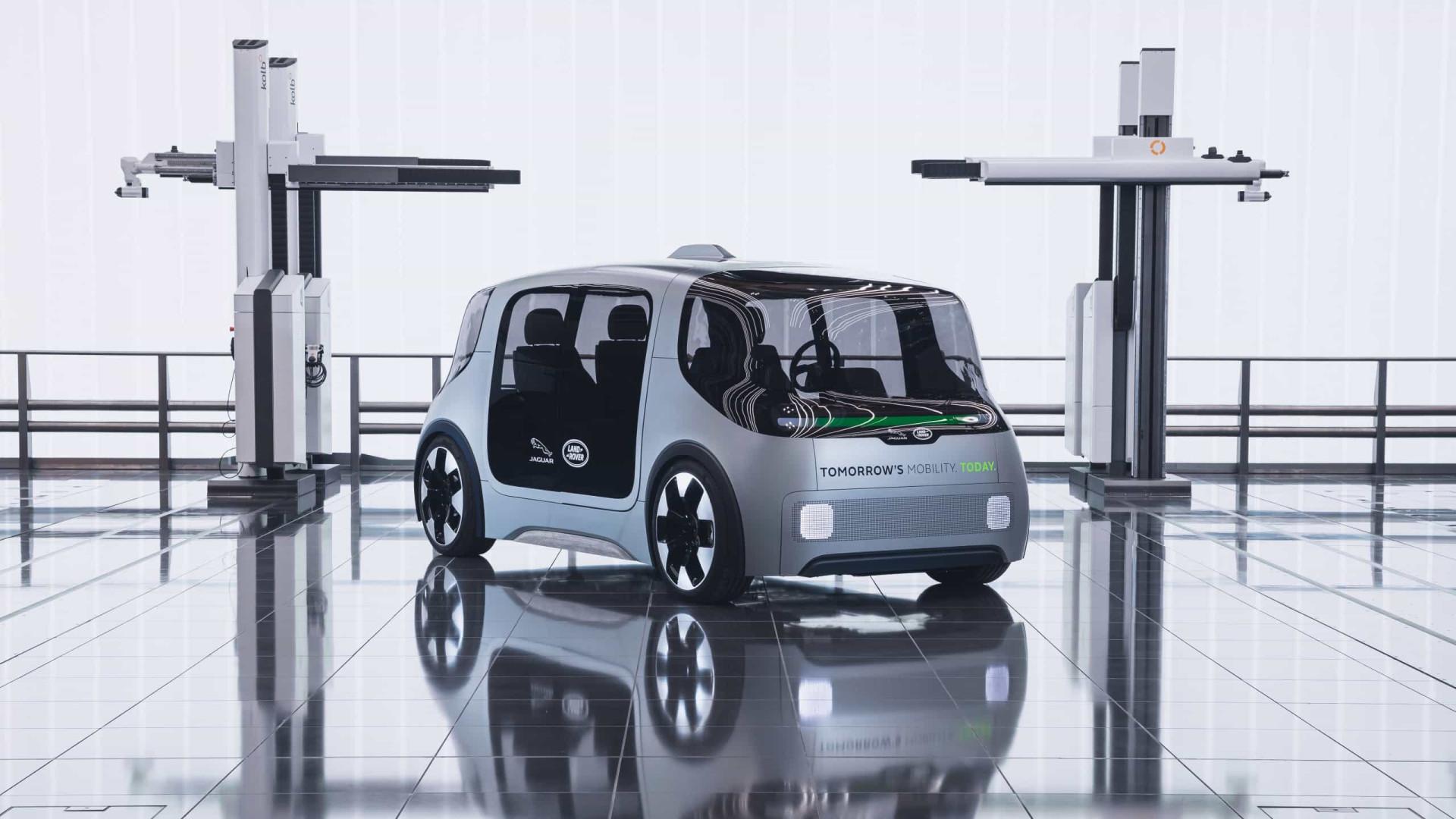 Jaguar Land Rover desvendou um novo 'concept' para viagens partilhadas