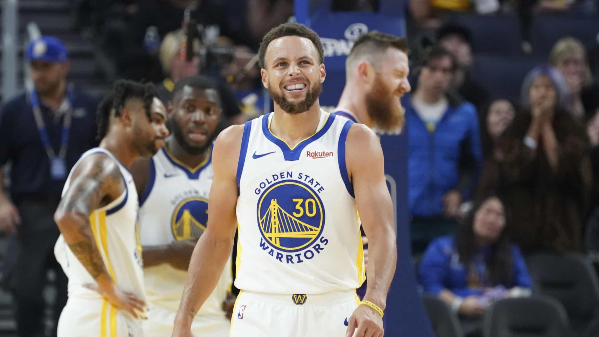 Stephen Curry já tem data de regresso aos Warriors