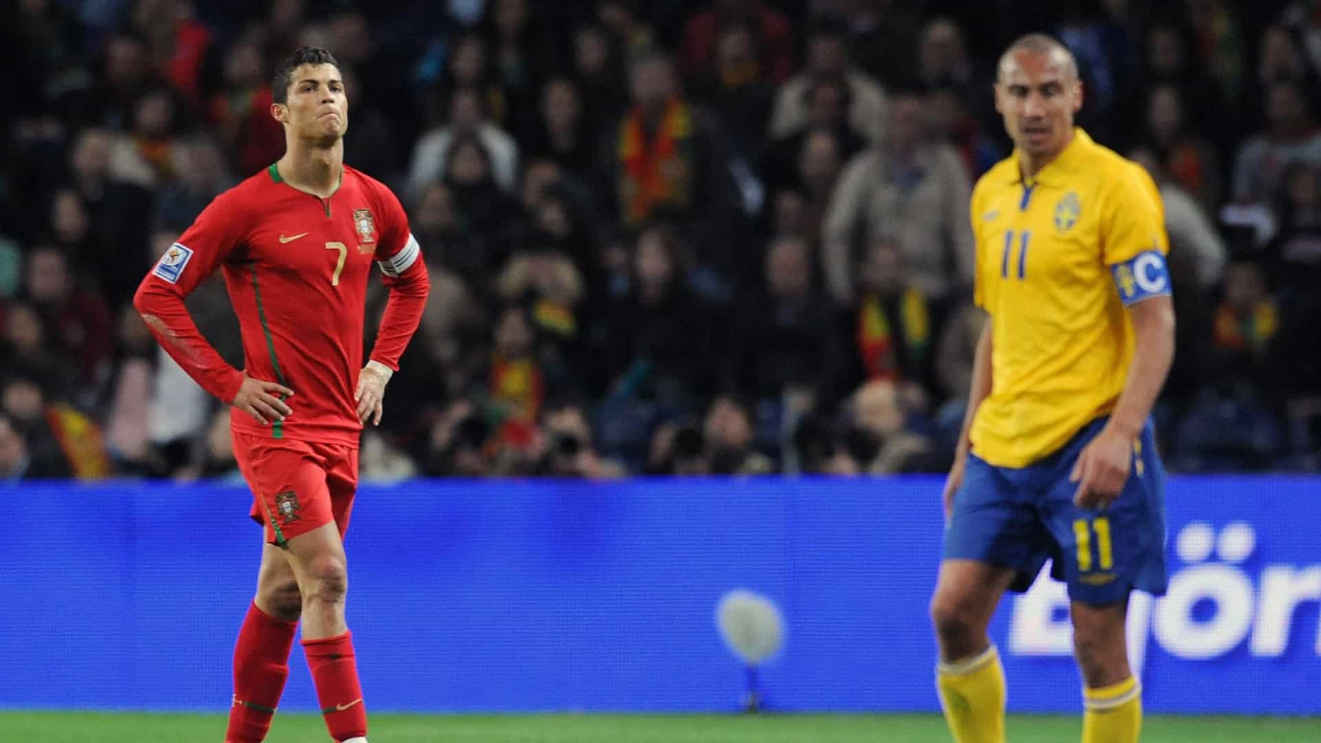 """""""Cristiano Ronaldo e Messi? Eles é que jogaram comigo..."""""""