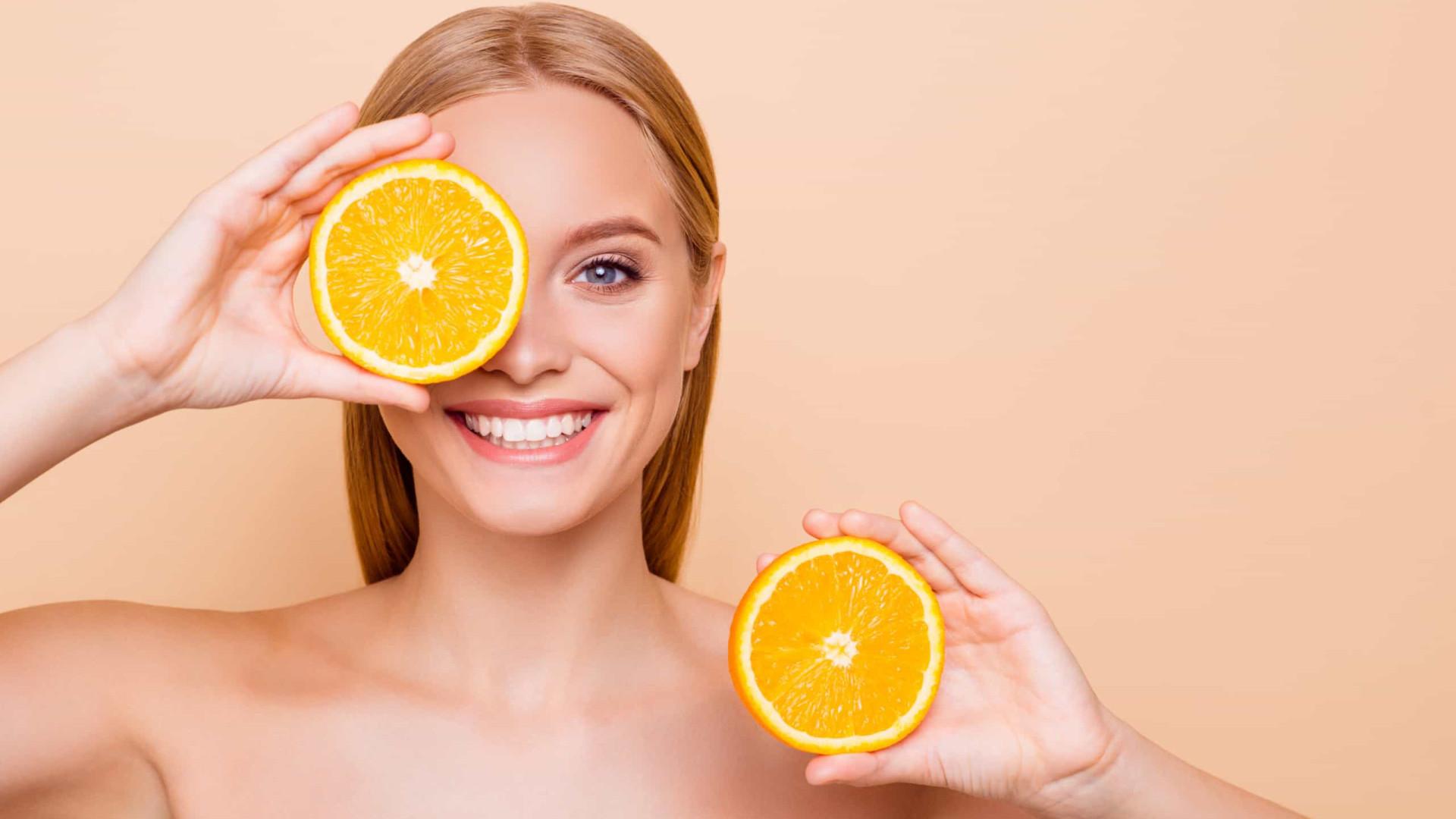 Jovem para sempre. Os benefícios da vitamina C para a pele