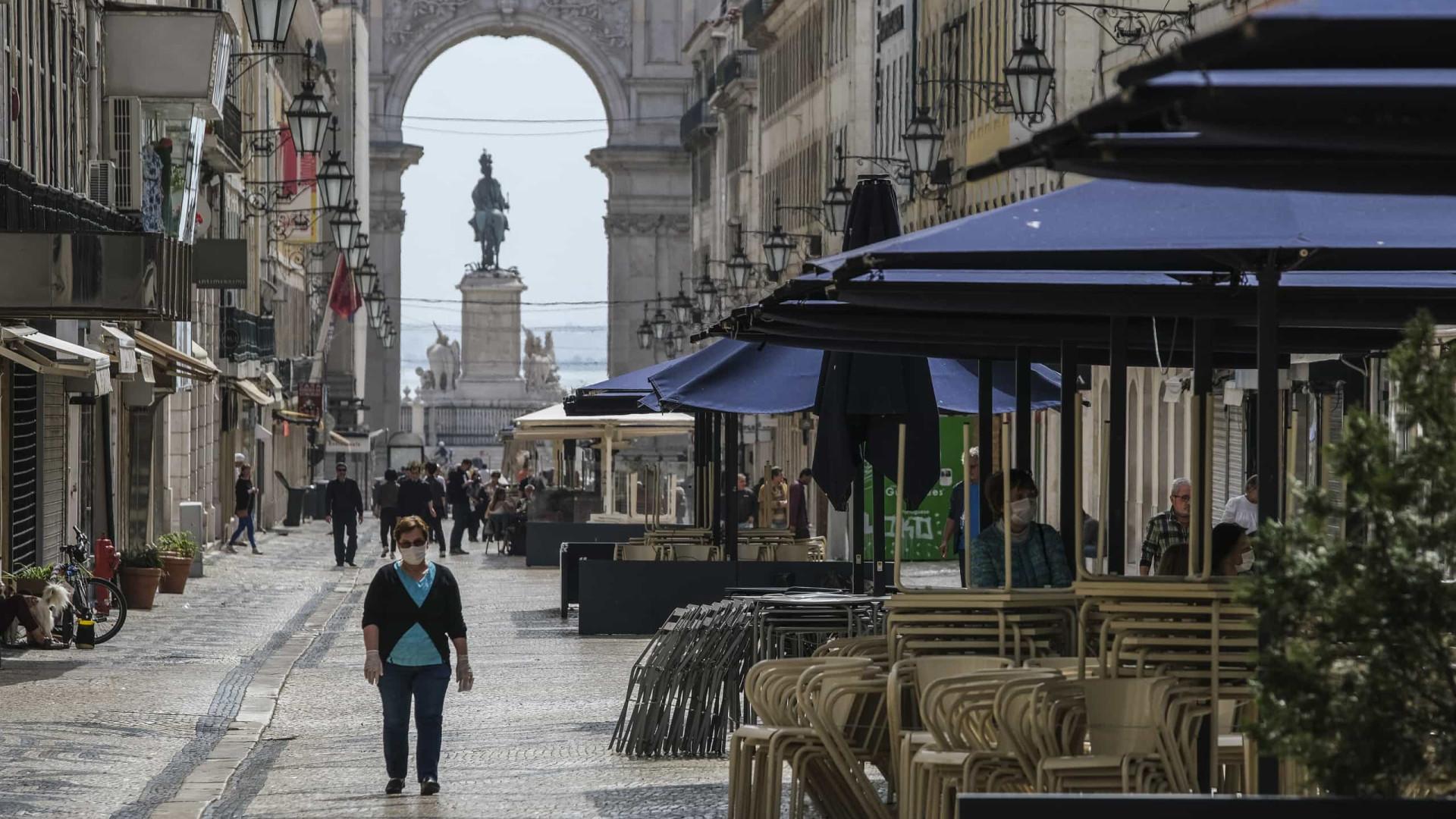 Covid-19. Esta é a Lisboa (quase vazia) em tempos do novo coronavírus