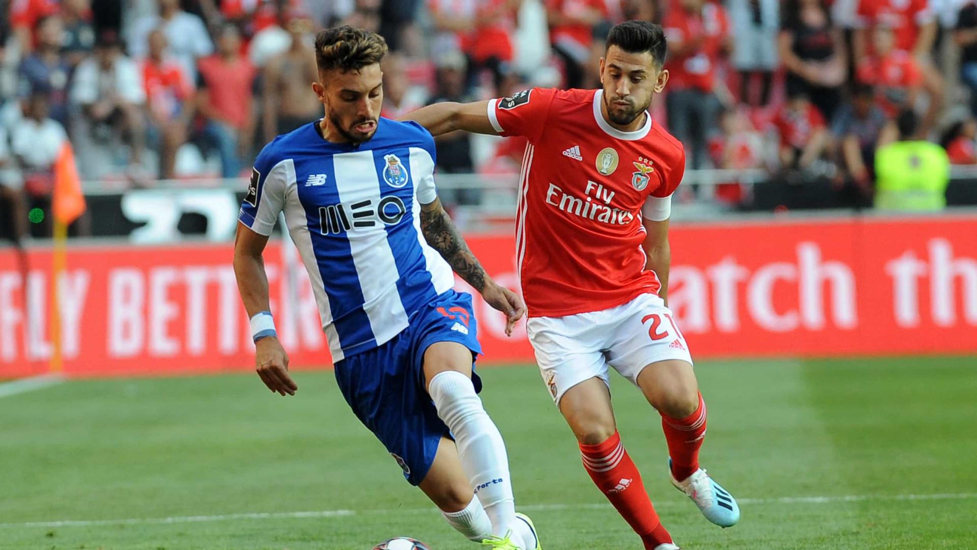 Fc Porto Benfica Ultimos 10 Jogos Com Um Ligeiro Sorriso Em Tons De Azul