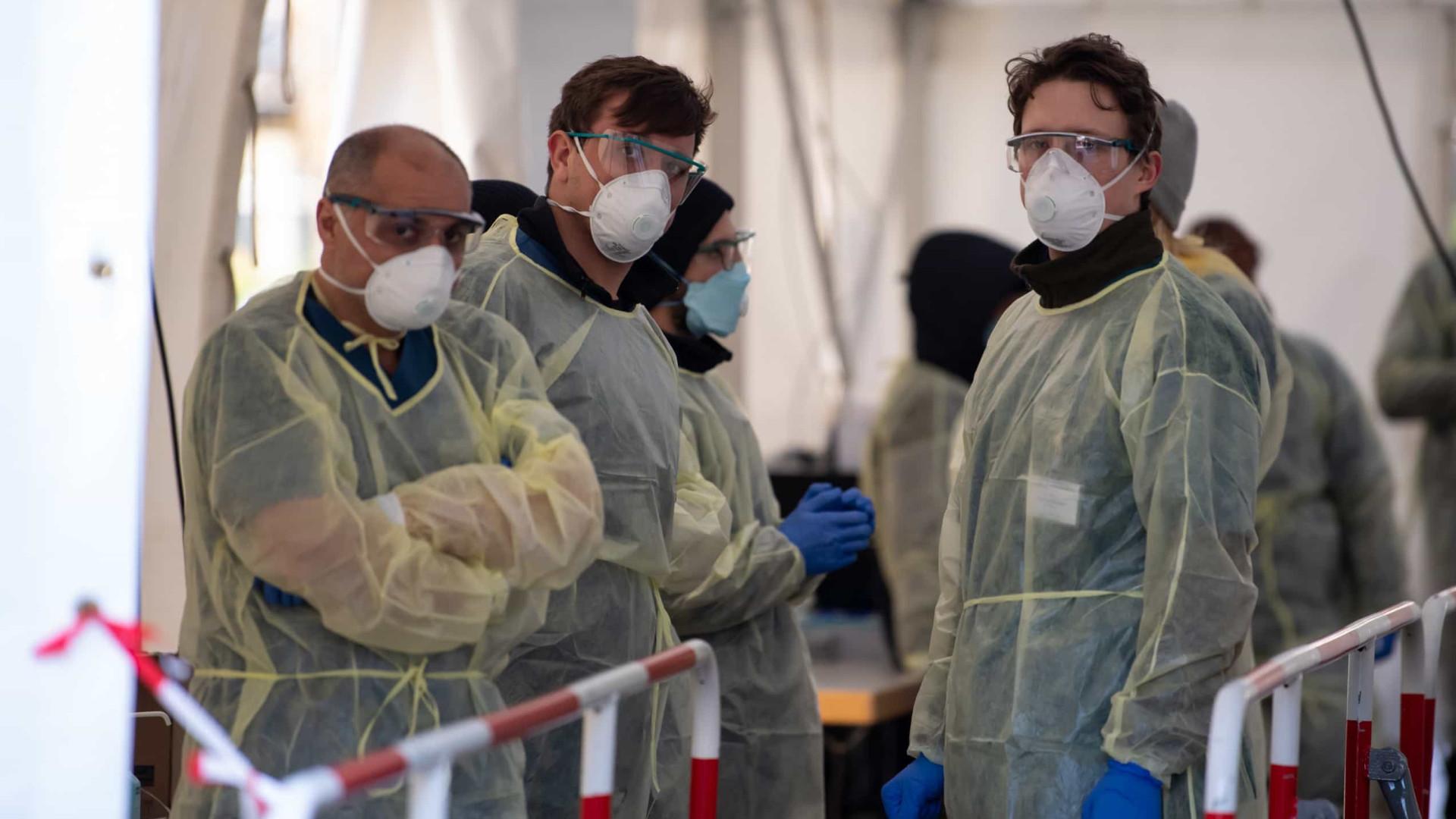 Covid-19: Alemanha soma 149 mortes e mais de cinco mil casos em 24 horas