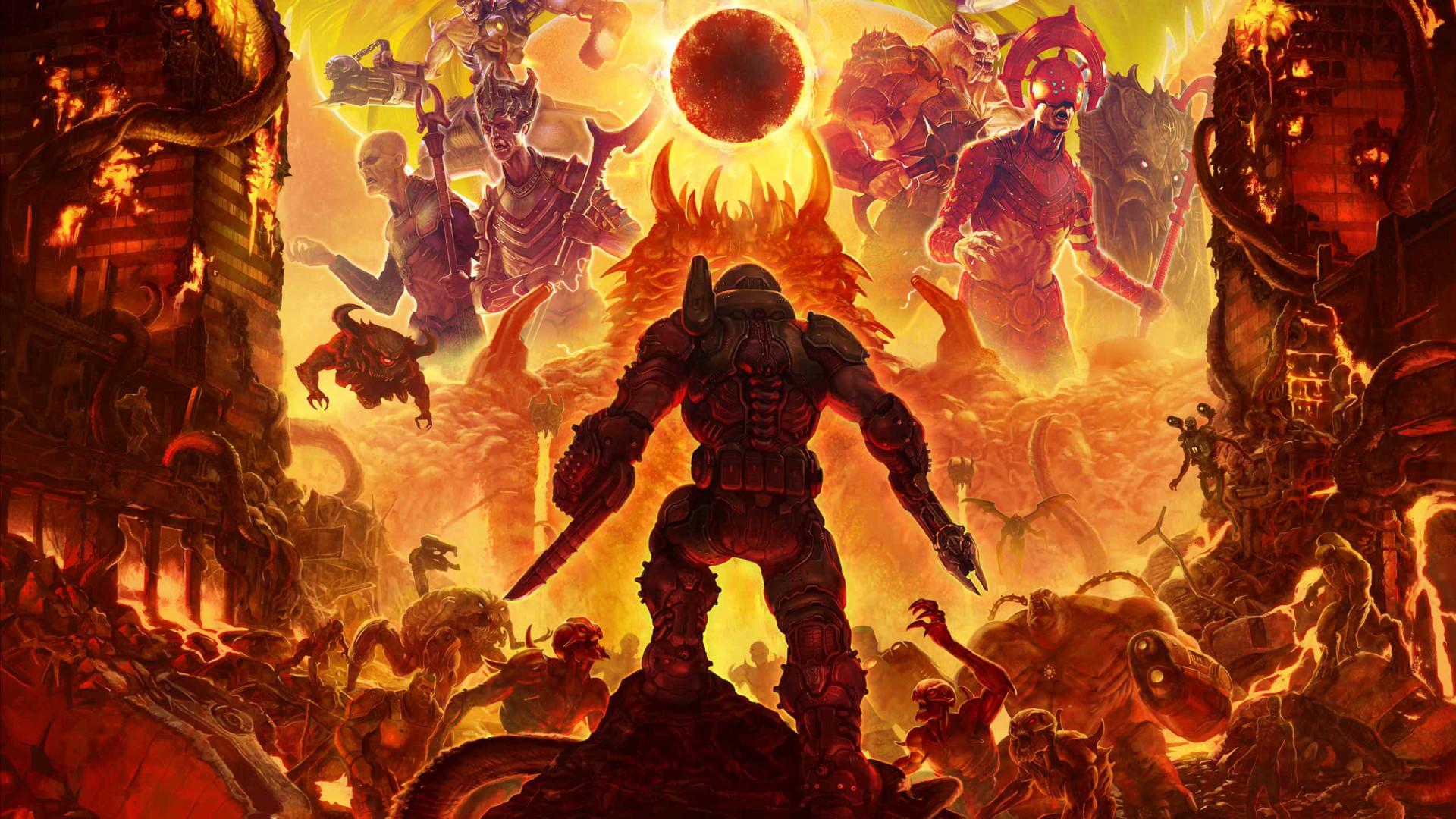 Doom Eternal'. O clássico atingiu um novo patamar de qualidade