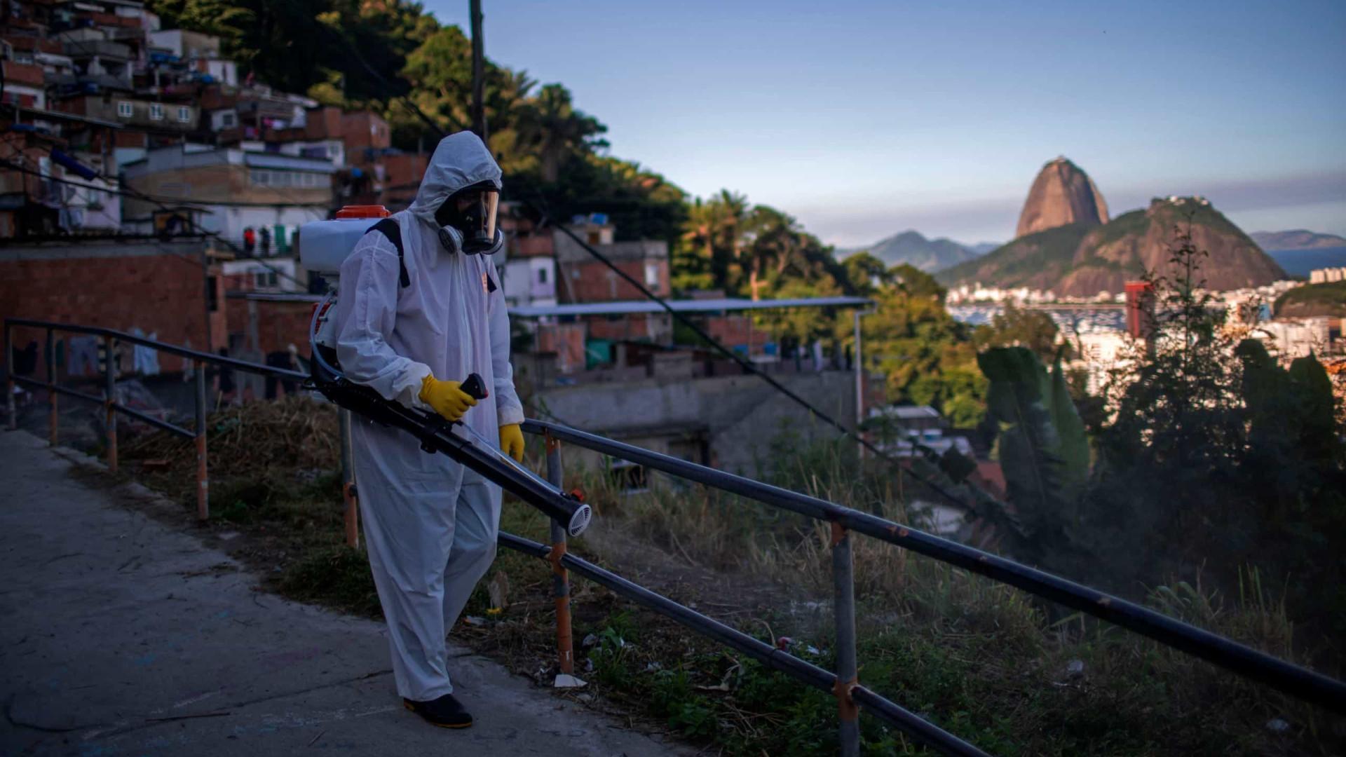 Brasil regista 5.632 novos casos e quase 400 mortes nas últimas 24 horas