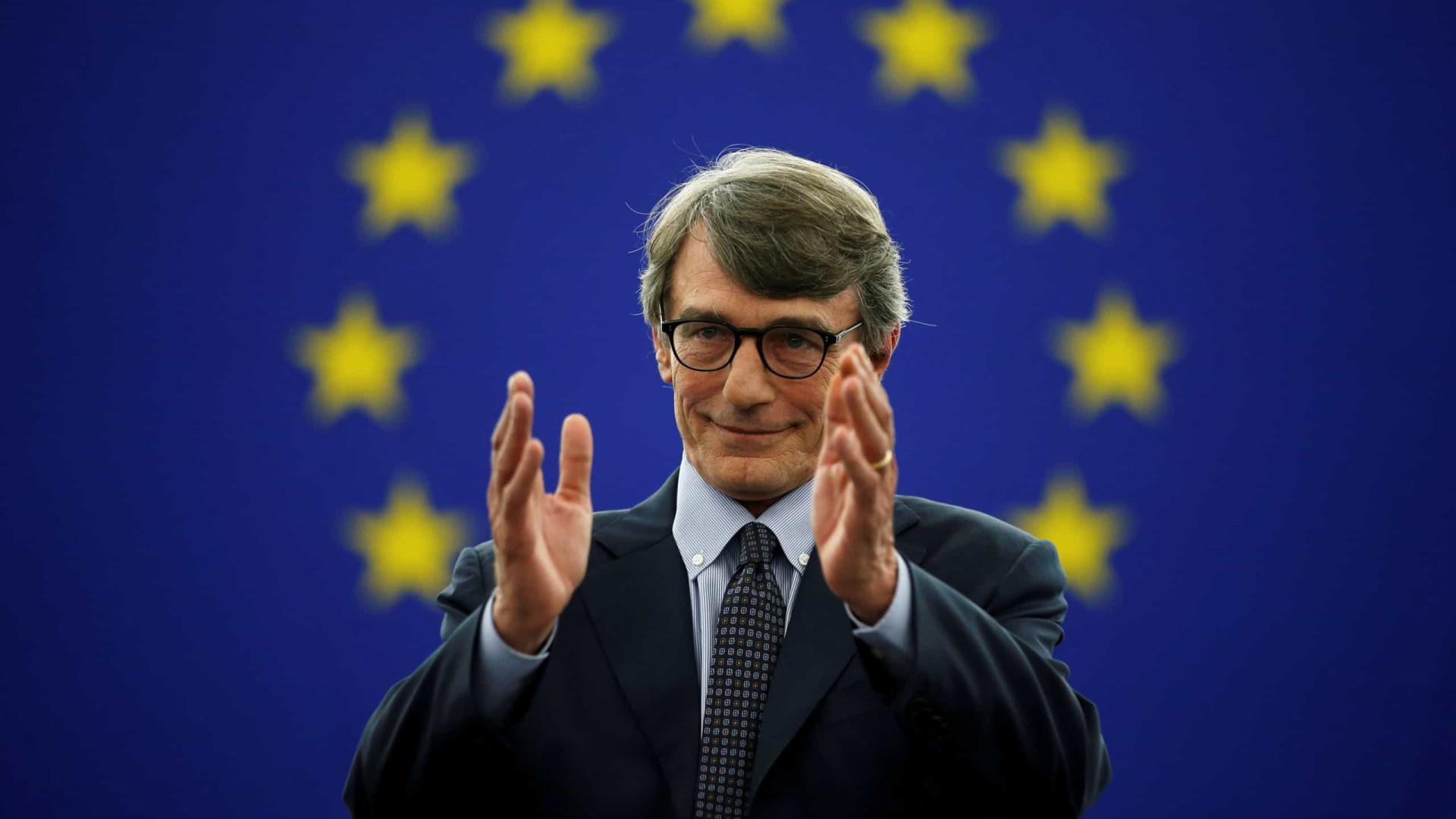 """Presidente do PE pede """"sentido de responsabilidade"""" aos líderes frugais"""