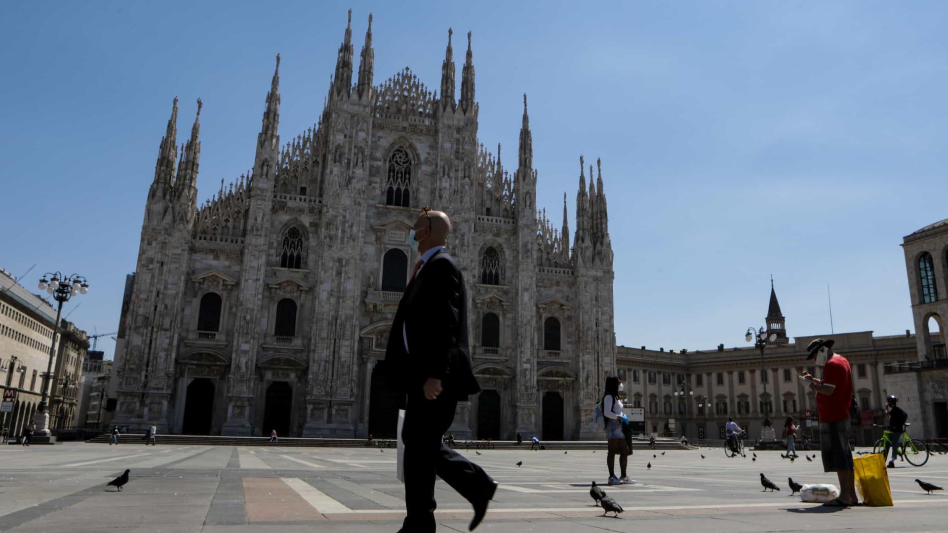 Itália recorre à Apple e Google em app para vigiar Covid-19