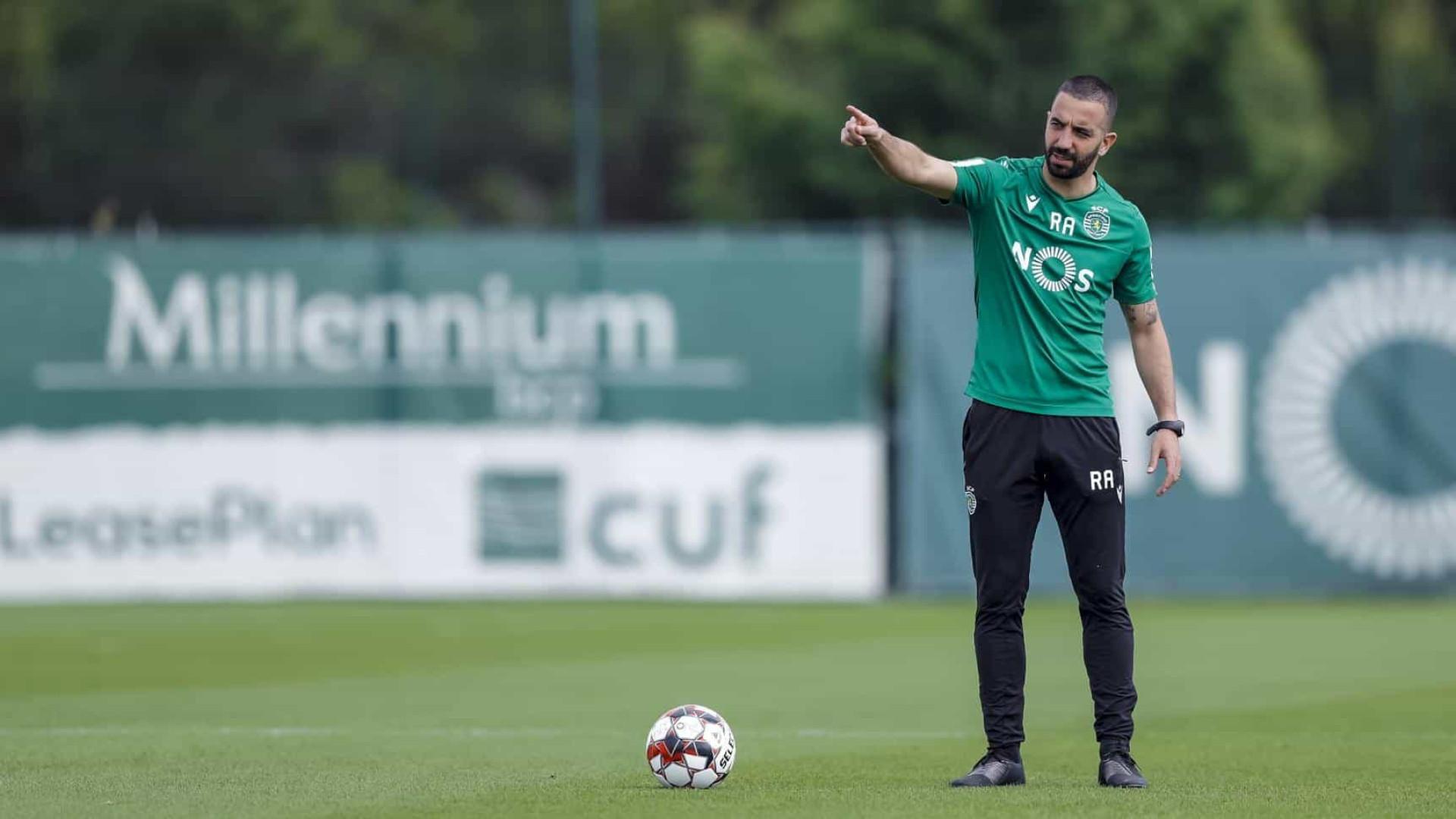 Rúben Amorim continua com duas 'dores de cabeça' para Guimarães