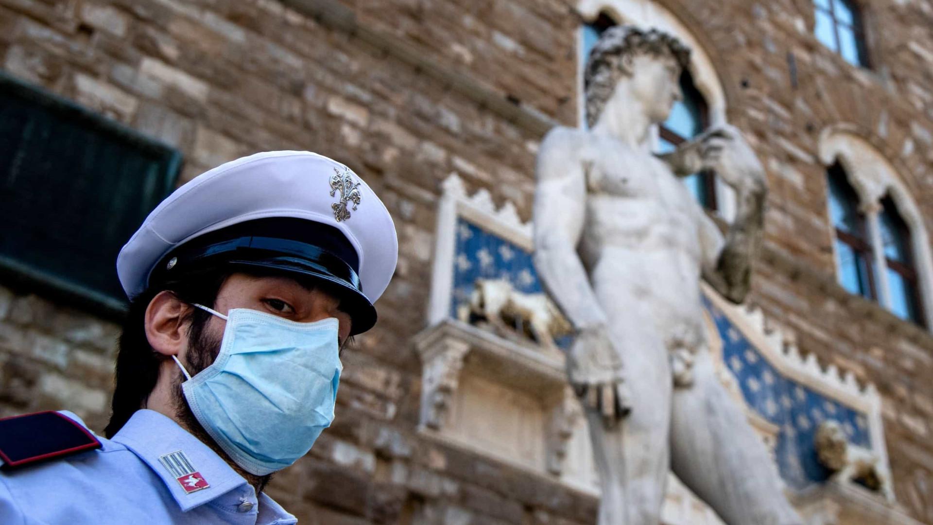 Morreram mais 71 pessoas em Itália em 24 horas. Total fixa-se em 33.601