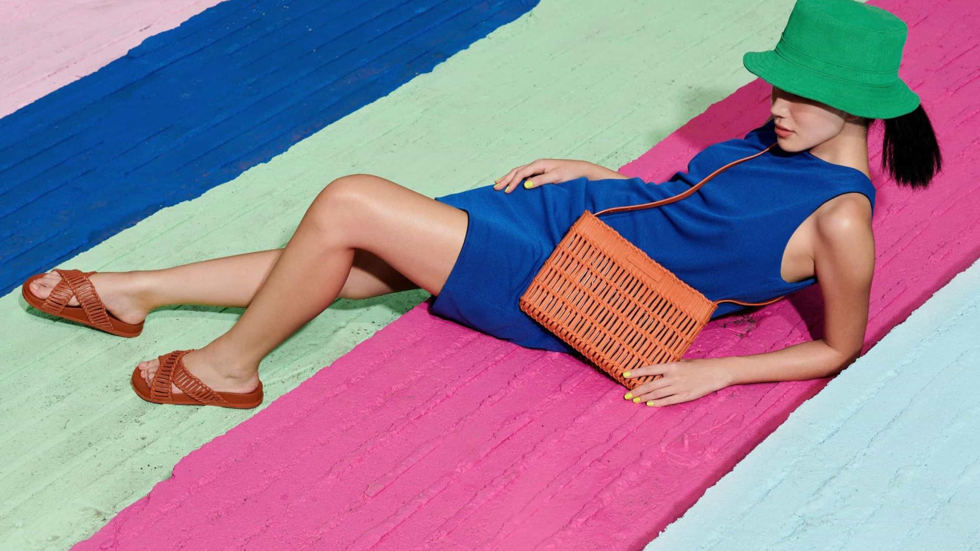 Melissa junta-se a Salinas em coleção de verão