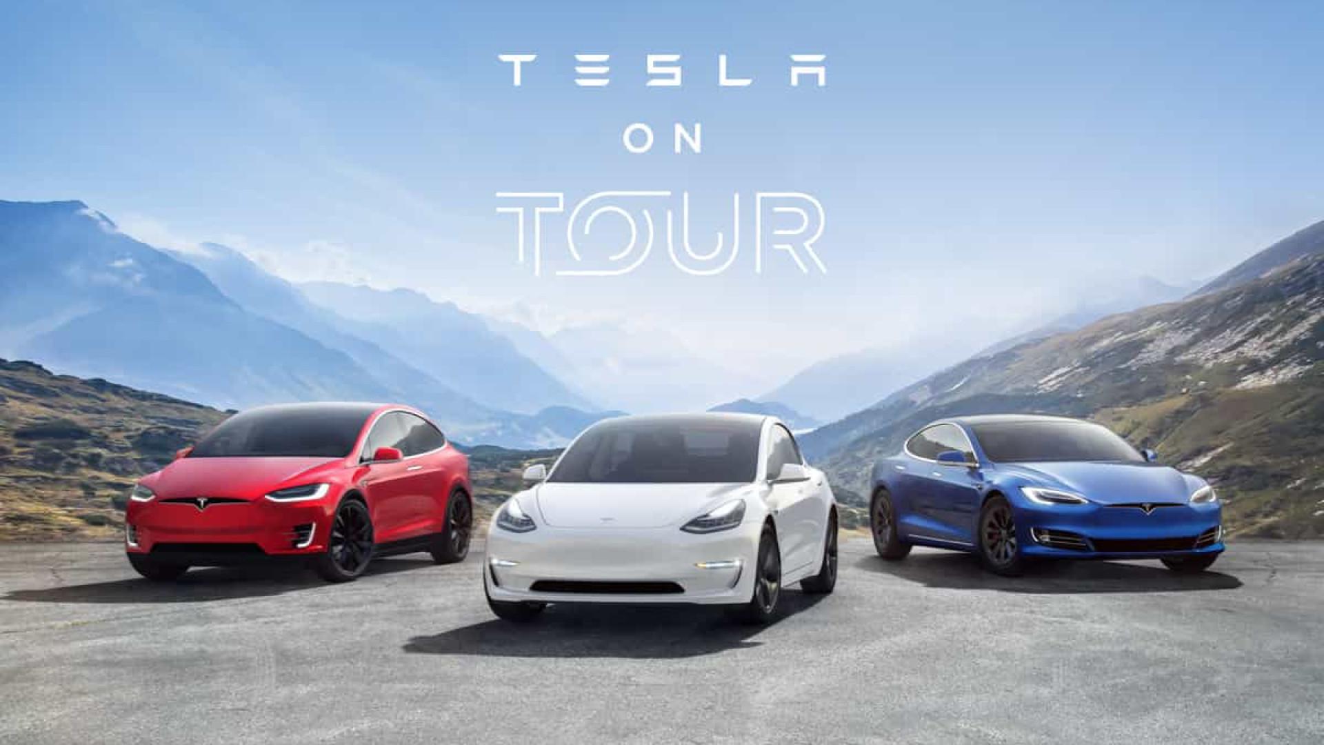 Tesla prepara 'digressão' por Portugal