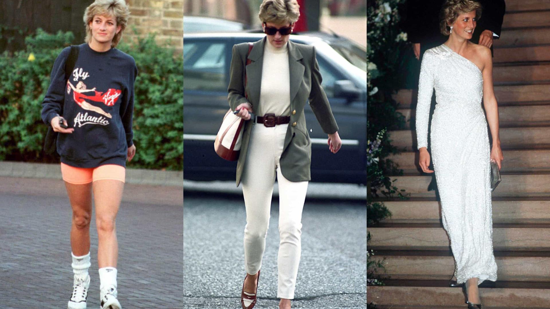 Look da Semana: Diana, um ícone de estilo intemporal