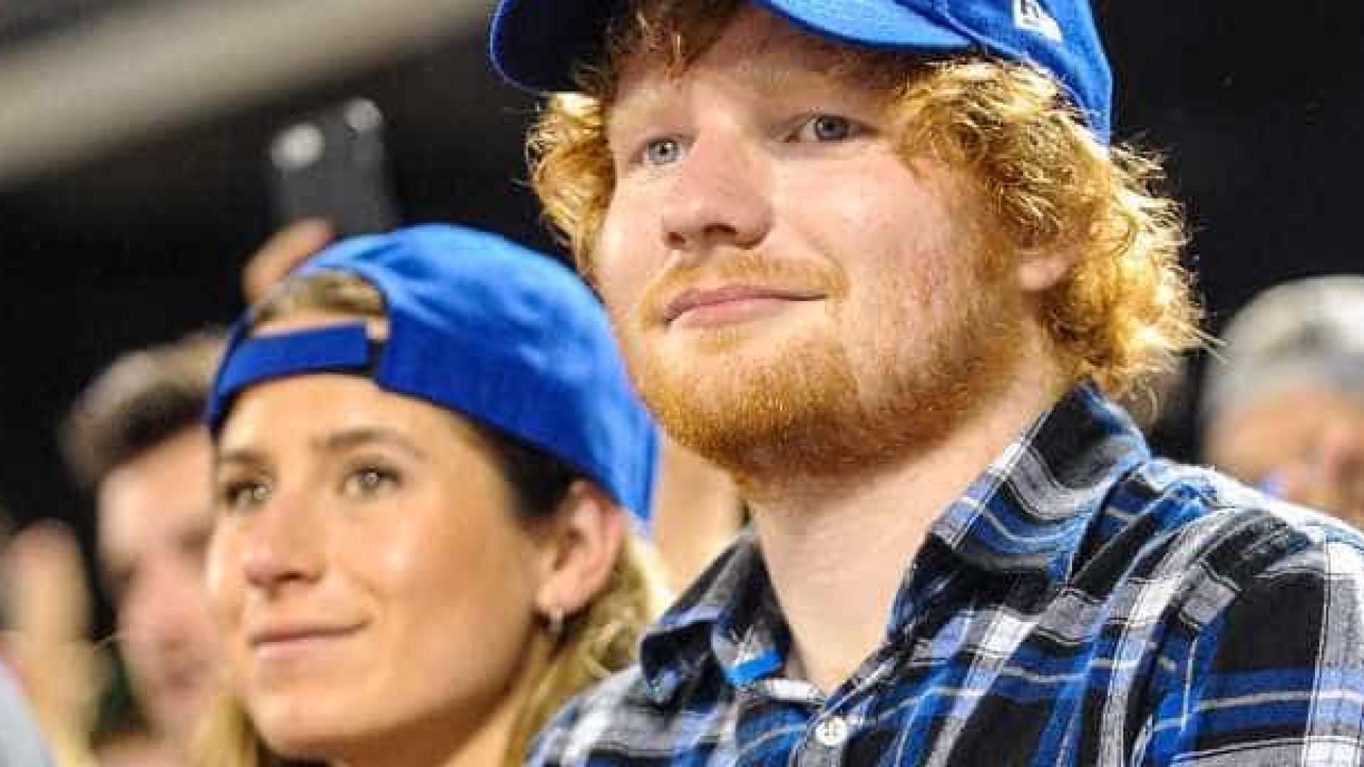 Reveladas imagens que mostram gravidez da mulher de Ed Sheeran
