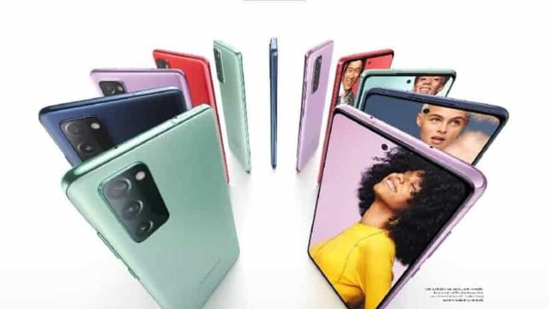 Reveladas especificações da nova versão do Galaxy S20