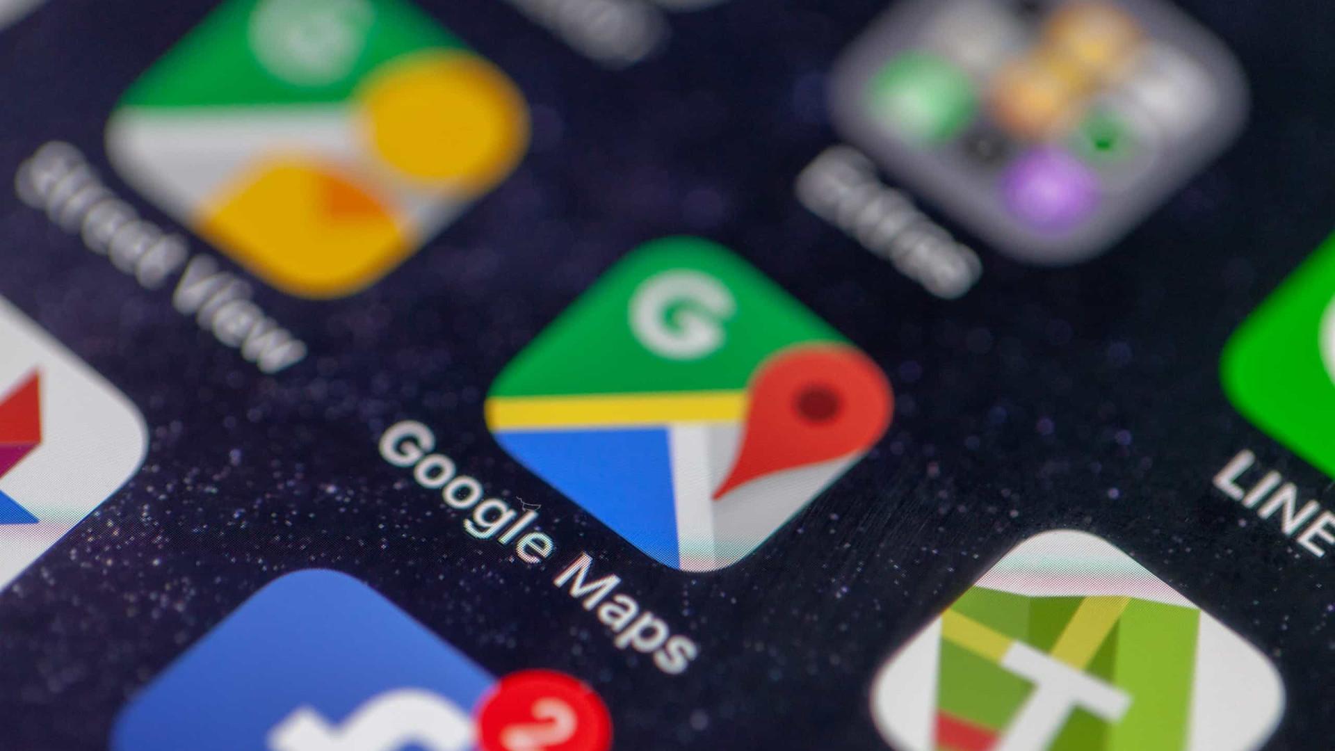 O tema escuro chegou ao Google Maps