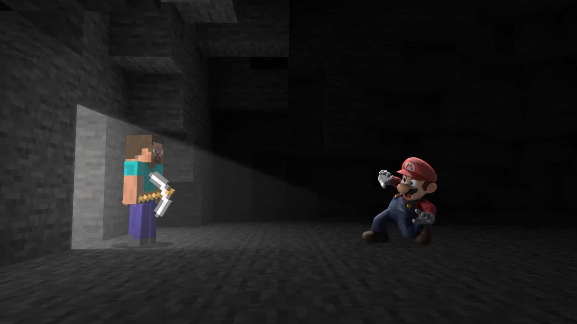 Protagonista de 'Minecraft' a caminho de 'Super Smash Bros. Ultimate'