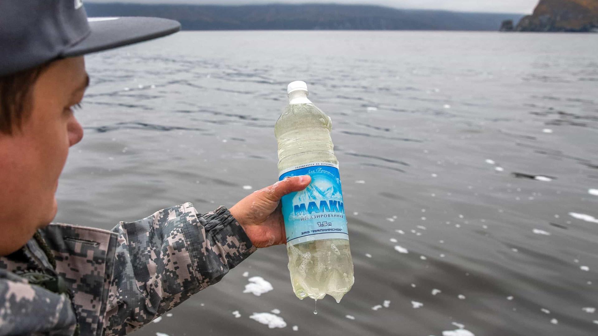 Kamchatka: Mancha de 40 quilómetros de poluição à deriva no oceano