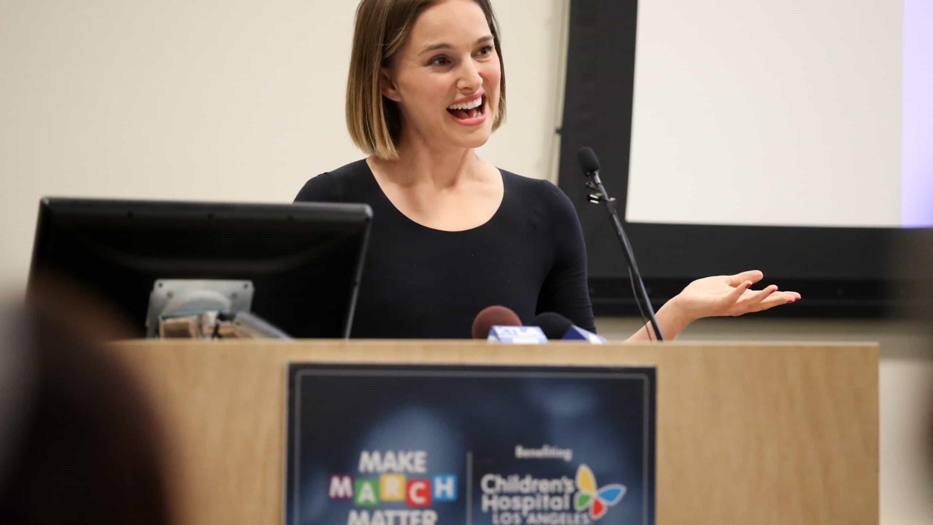 Natalie Portman lança livros infantis de fábulas com inclusão de género