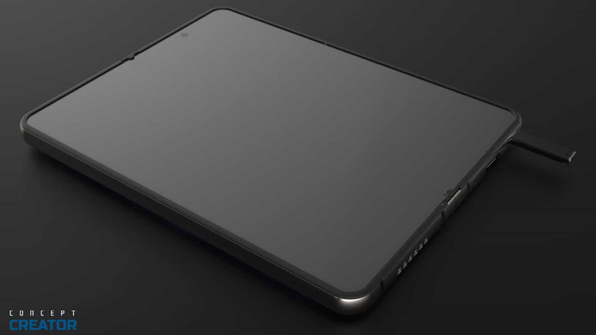 Próximo smartphone dobrável da Samsung pode incluir S Pen