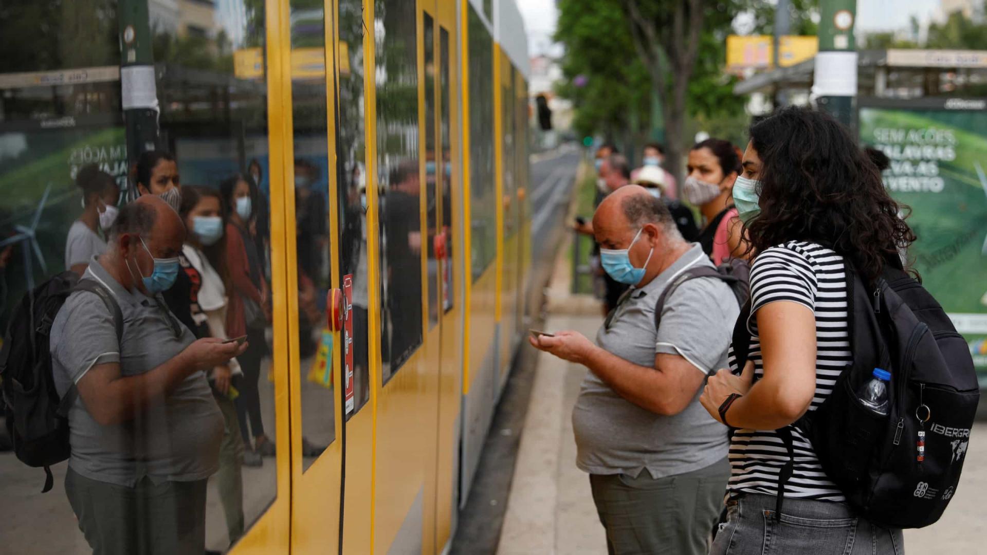 Transporte público na AML reforçado com 70 autocarros