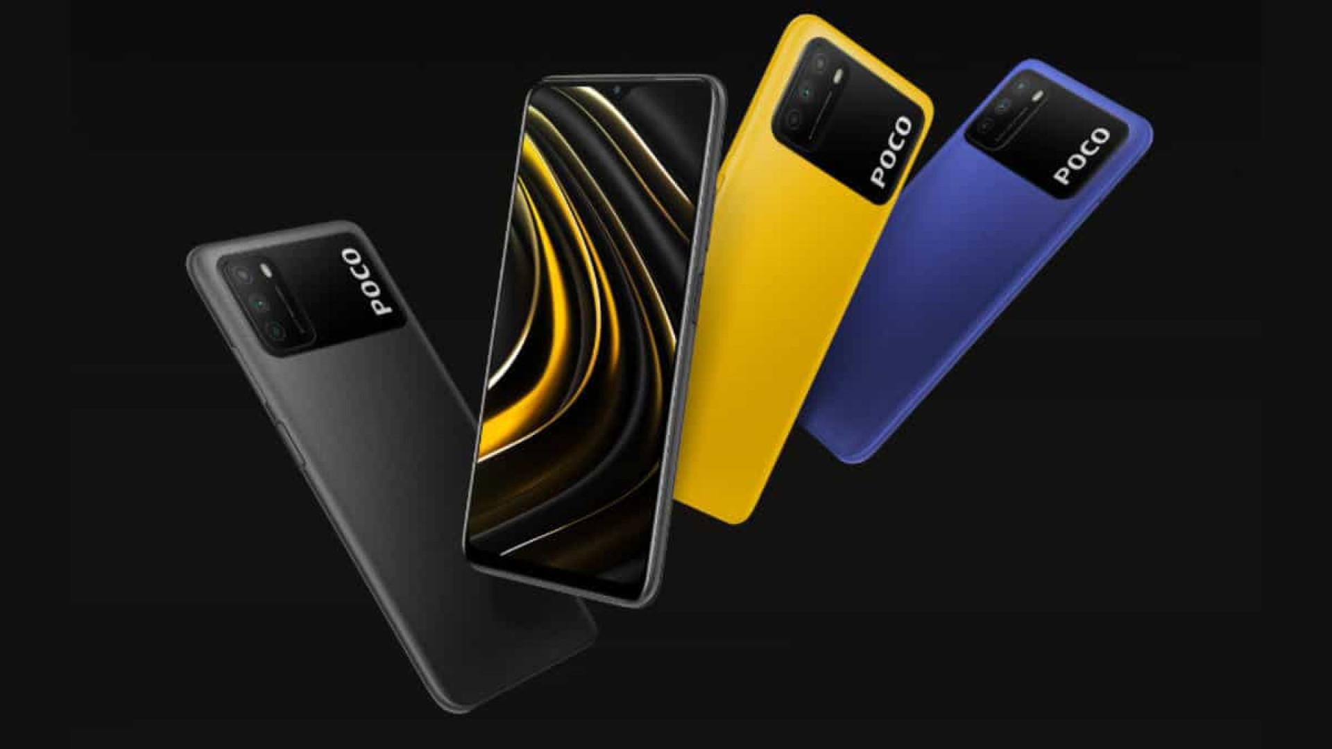 Poco M3 é o novo telemóvel da Xiaomi e custa 150 euros