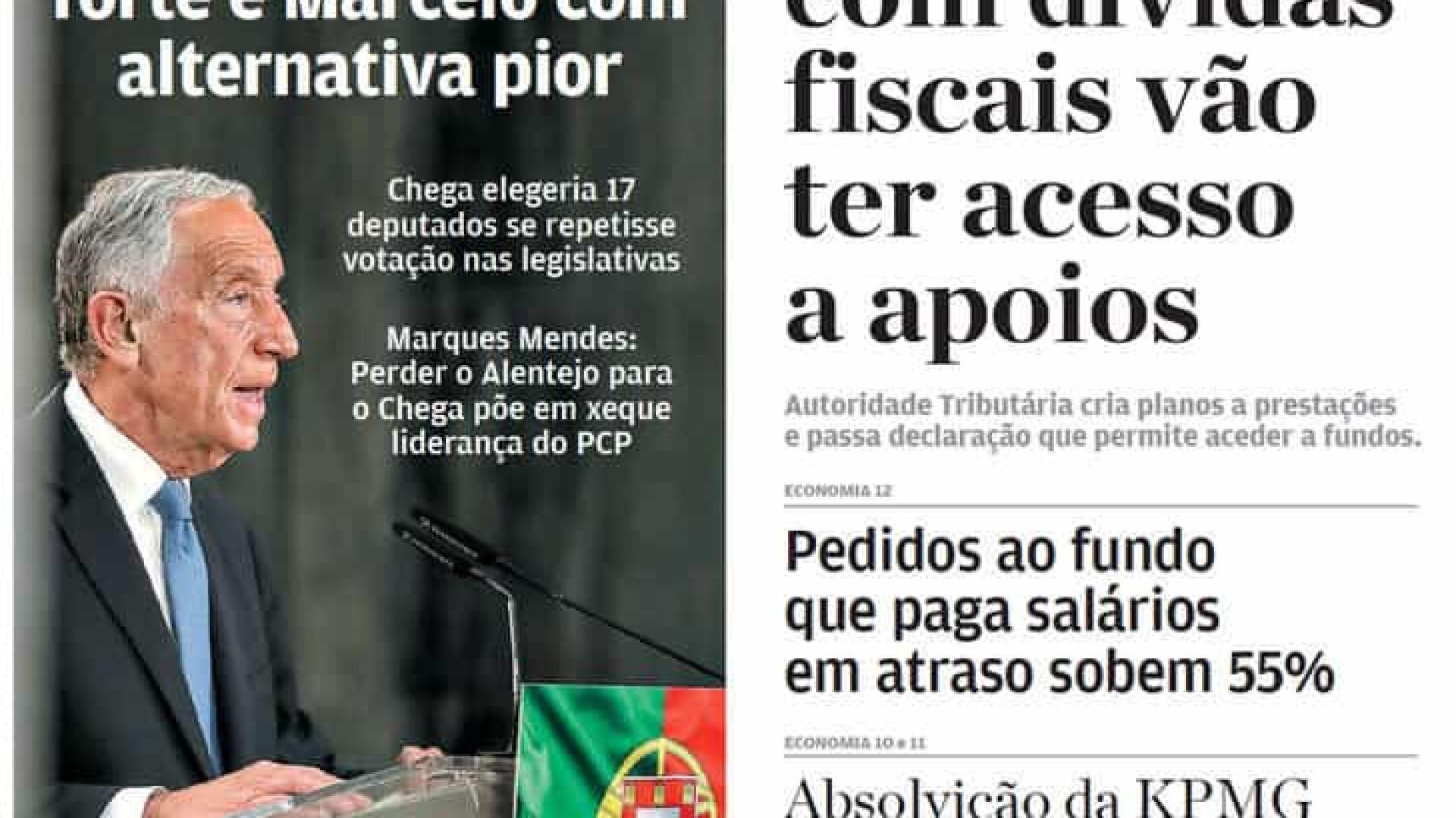 Hoje é notícia: Costa mais forte; MP quer pena máxima para amante de Rosa