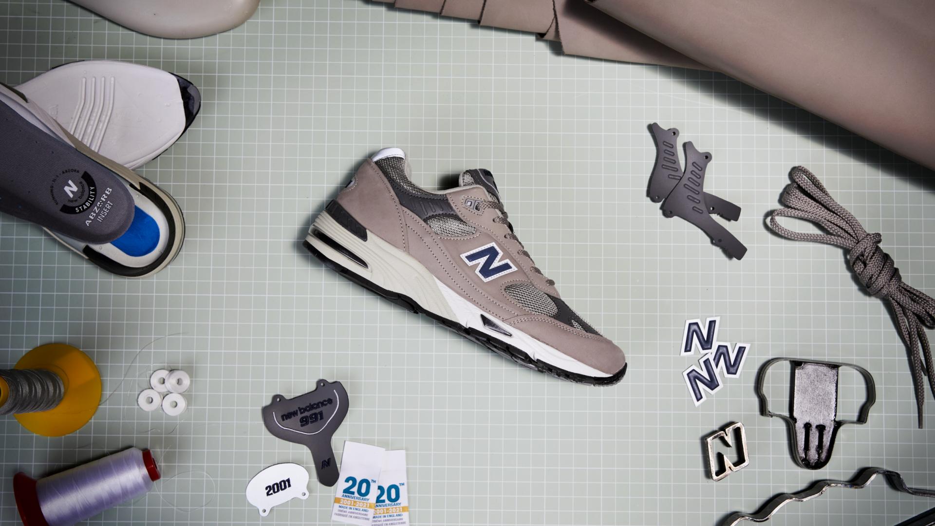 New Balance comemora o icónico 991. Simplesmente imperdível!