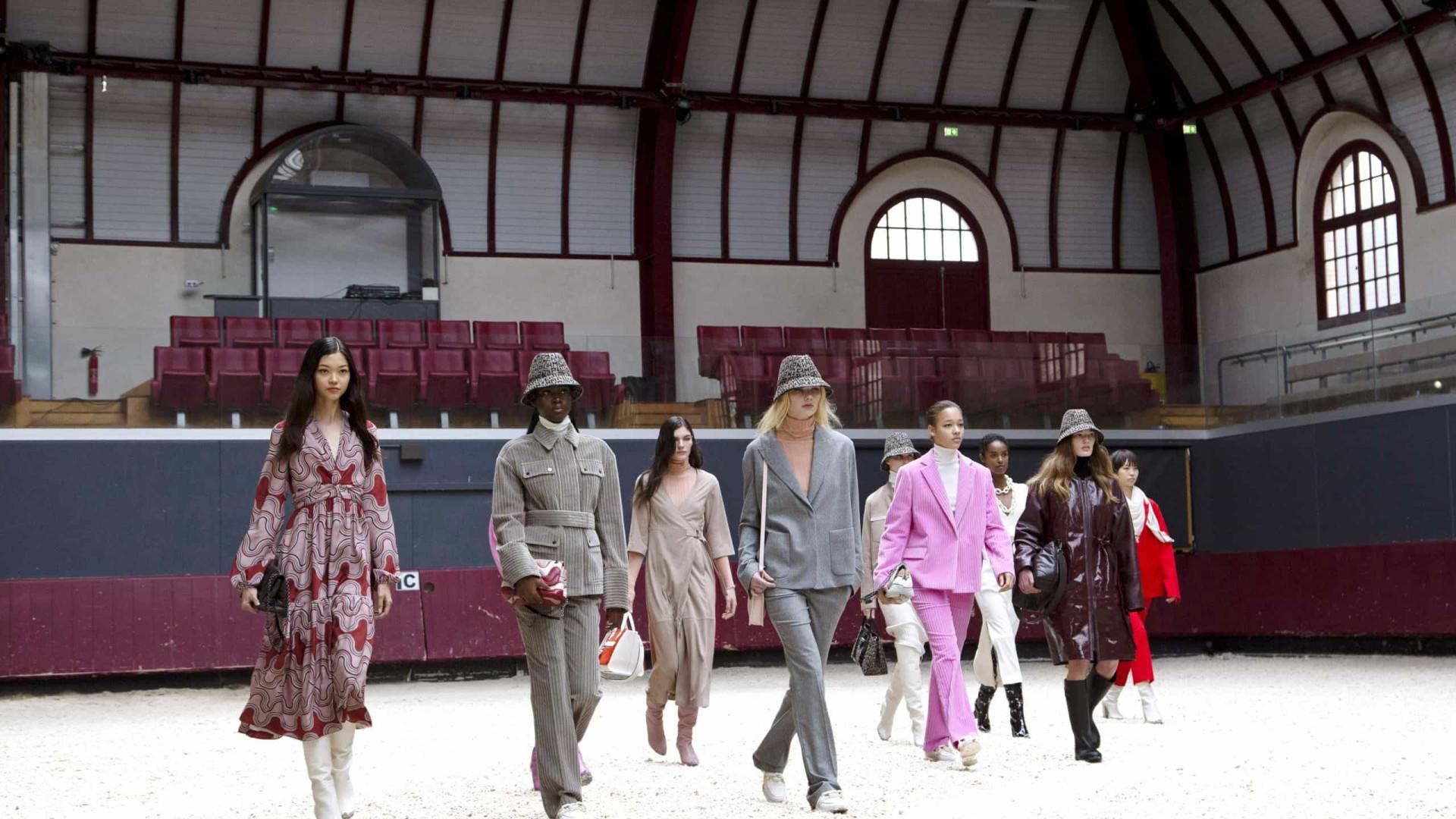 Longchamp apresenta coleção de outono/inverno 2021 em Paris