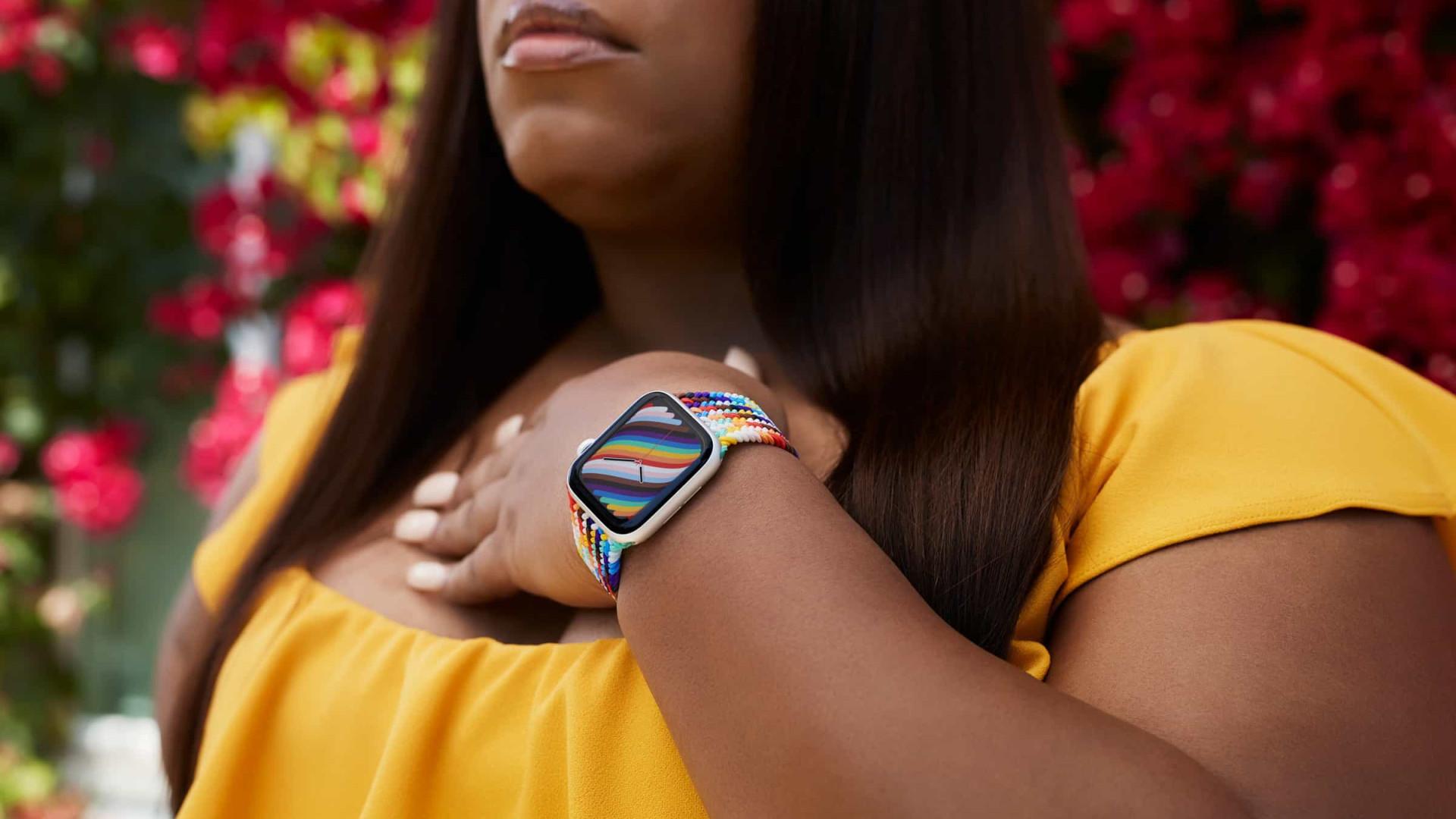 Apple Watch recebe novas braceletes para celebrar comunidade LGBT