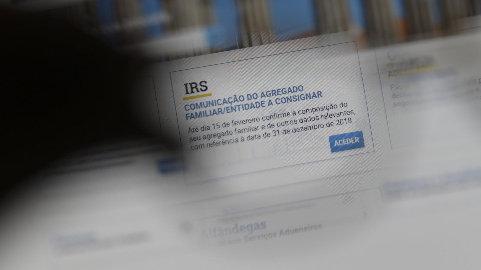 Fisco liquidou 73 mil declarações de IRS e 54 mil têm reembolso