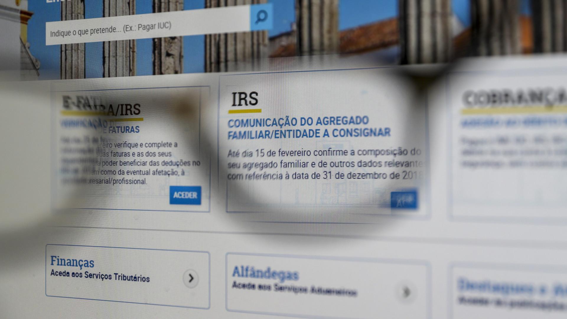 Mais de 32 mil contribuintes com planos para pagarem IRS em prestações
