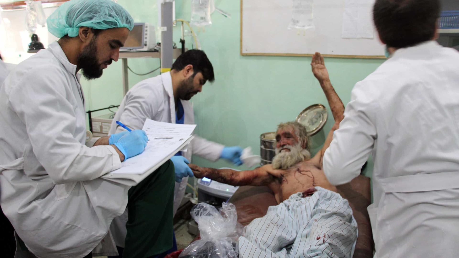 Sobe para 20 número de mortos em ataque a hospital no Afeganistão