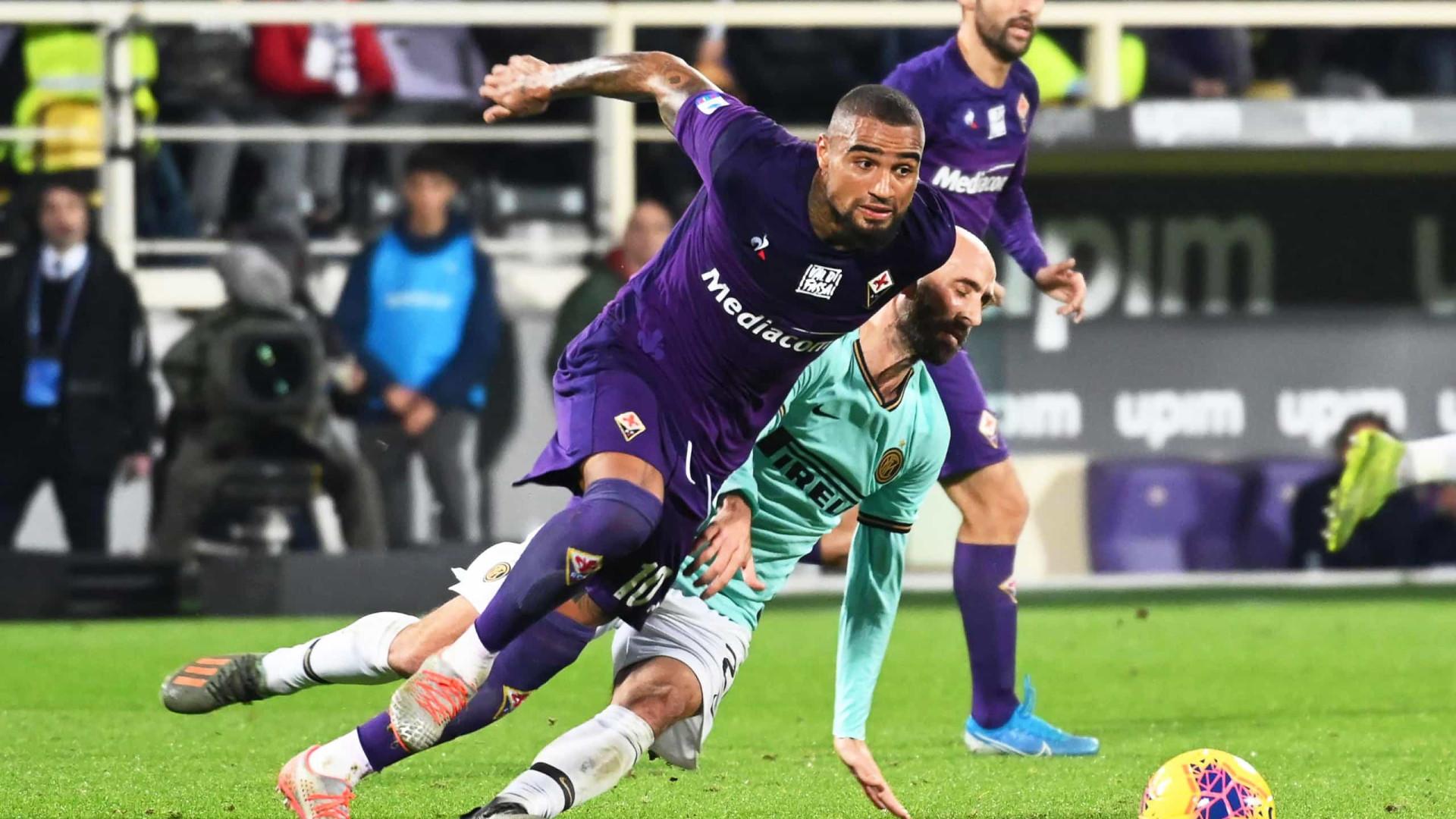 Kevin-Prince Boateng deixa Fiorentina para reforçar turcos do Besiktas