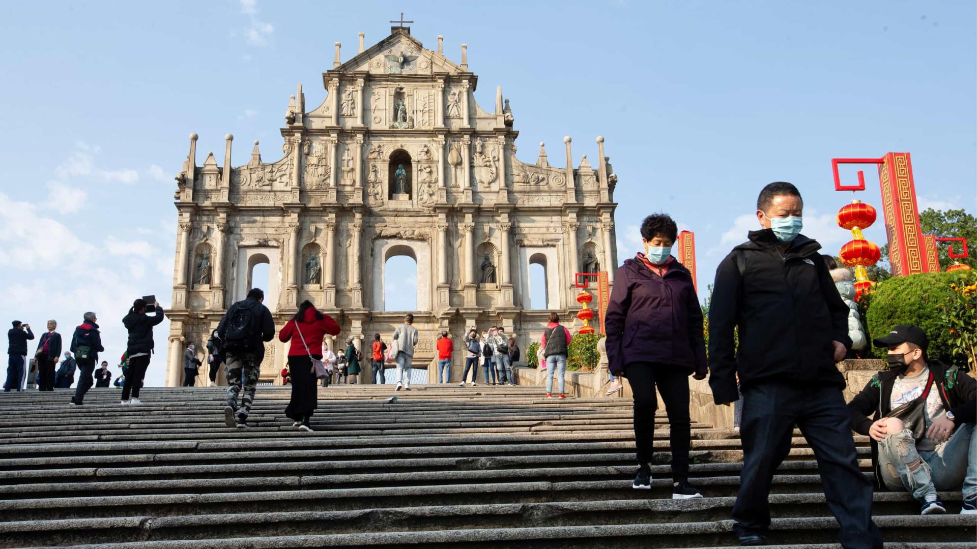 Covid-19: Mais três casos em Macau elevam total para 29