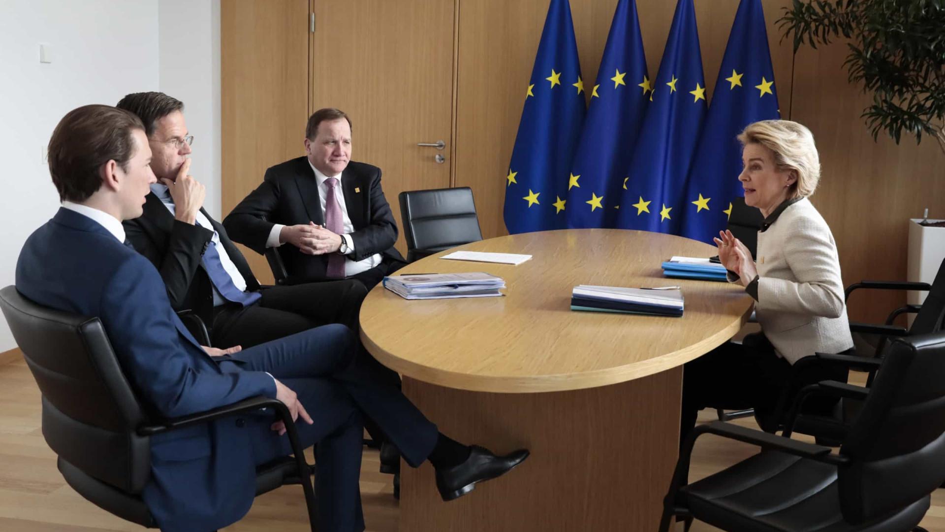 """Países """"frugais"""" vão pronunciar-se em bloco sobre orçamento da UE"""