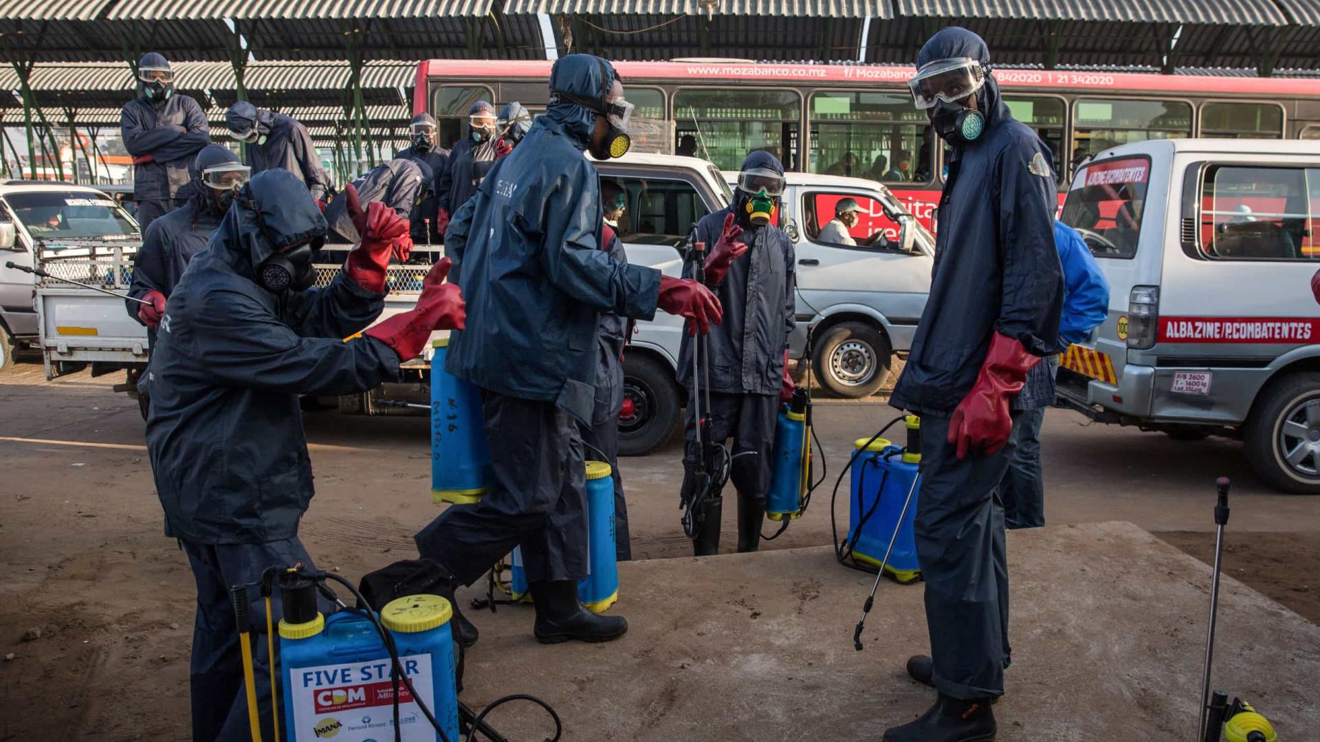 Moçambique regista mais 31 infeções e sobe total para 1.071 casos