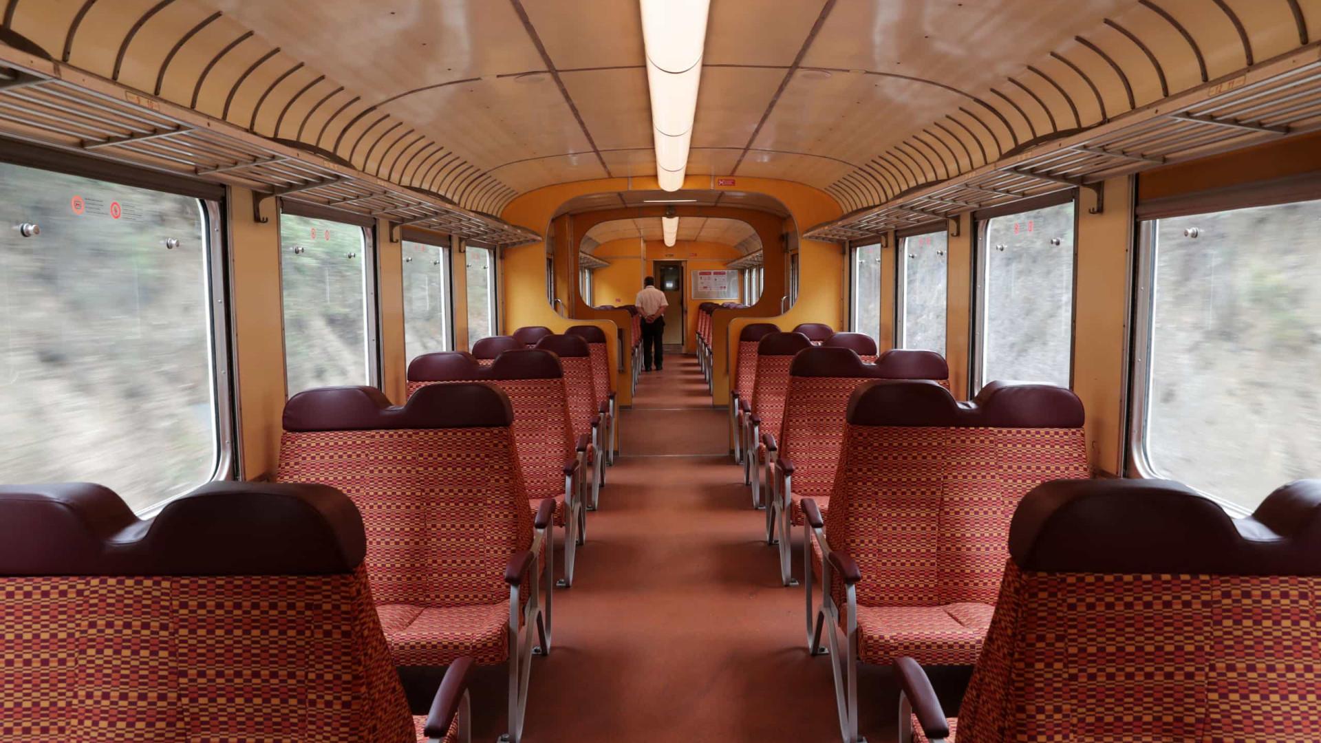 Comboio histórico Miradouro regressa amanhã para ligar Porto e Pocinho