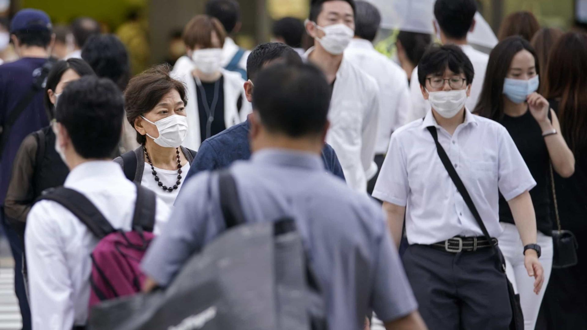 Covid-19 deixa capital do Japão em alerta máximo