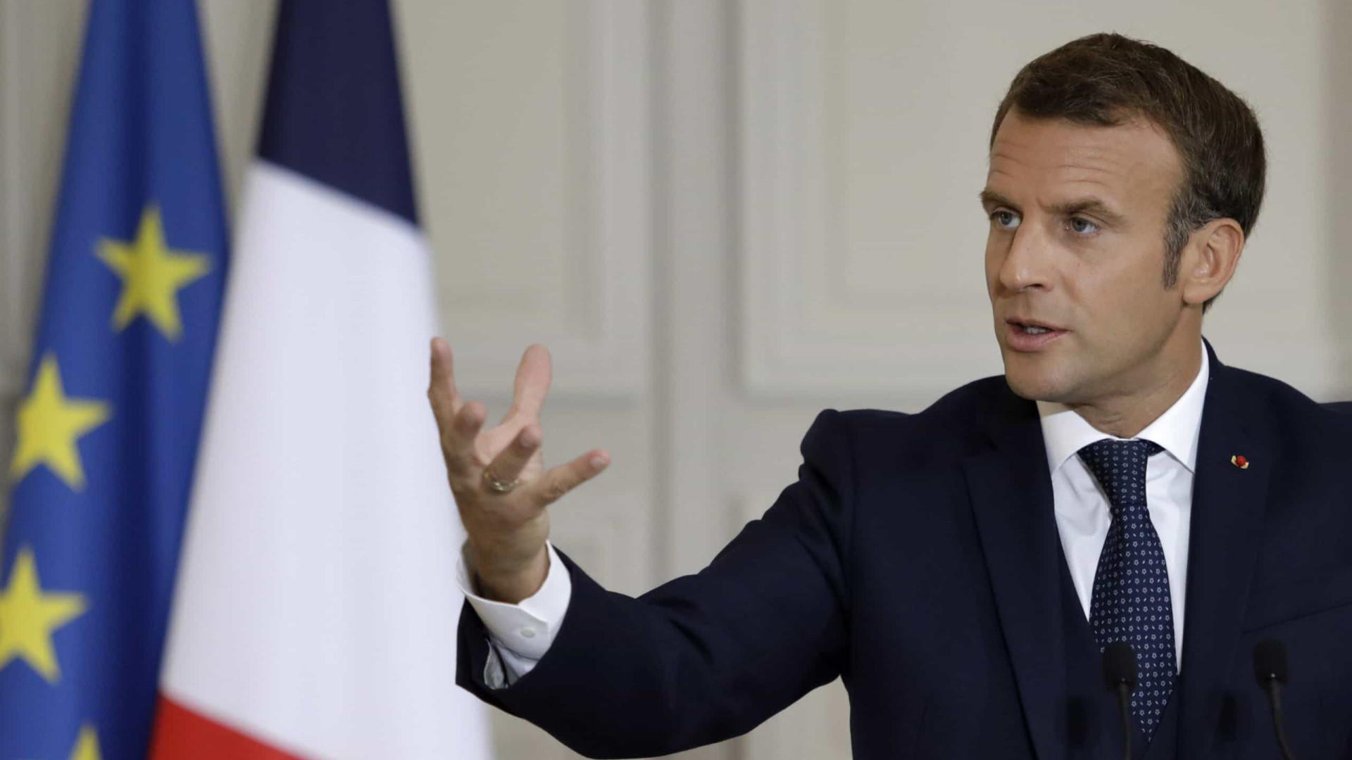 Macron Acusa Politicos Libaneses De Traicao Coletiva