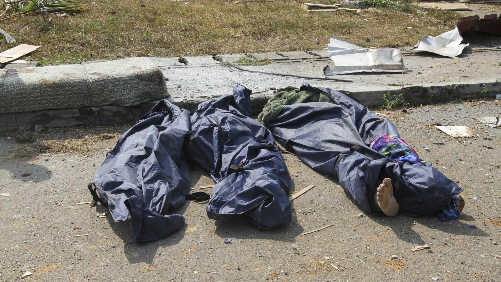 Guiné Equatorial:  20 corpos estão por identificar, um mês após explosão