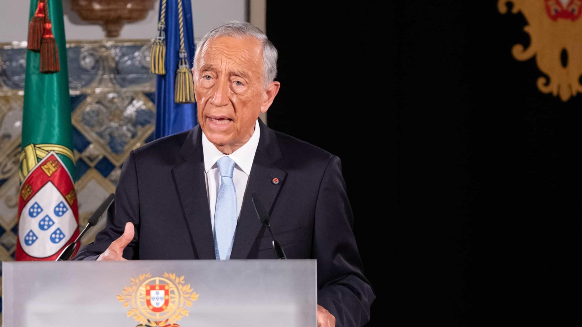 Presidente da República começa hoje a ouvir os partidos