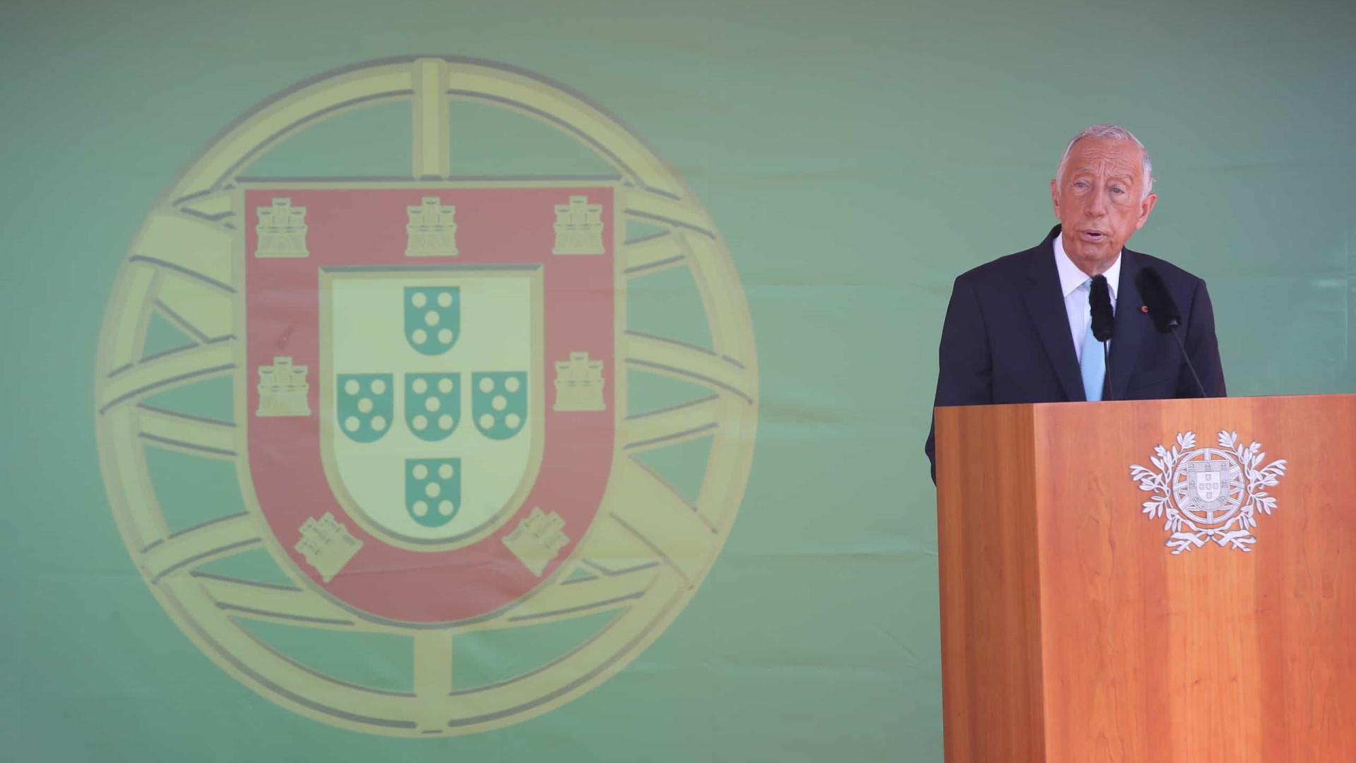 """Marcelo alerta """"contra a indiferença"""" no Dia Mundial do Refugiado"""