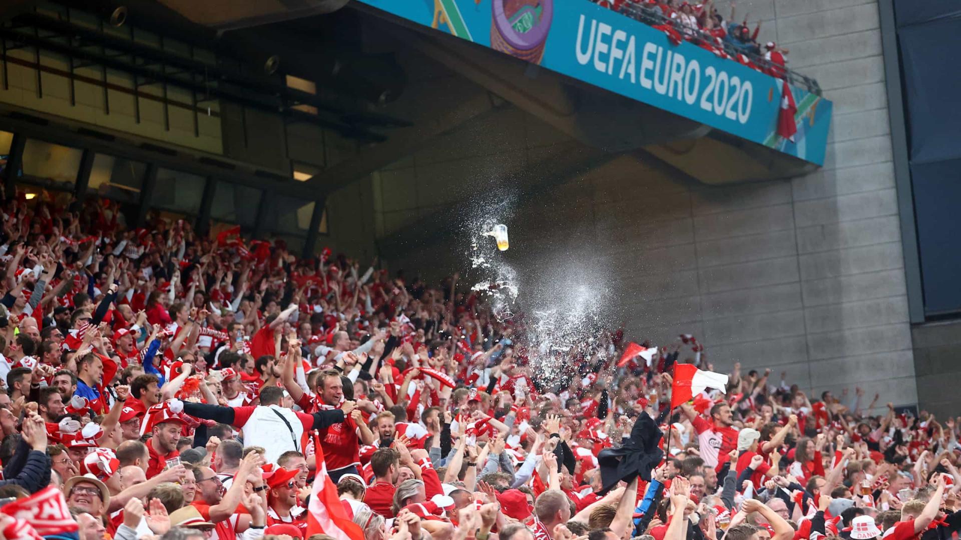 Euro'2020: OMS preocupada com relaxamento nas restrições e novos casos