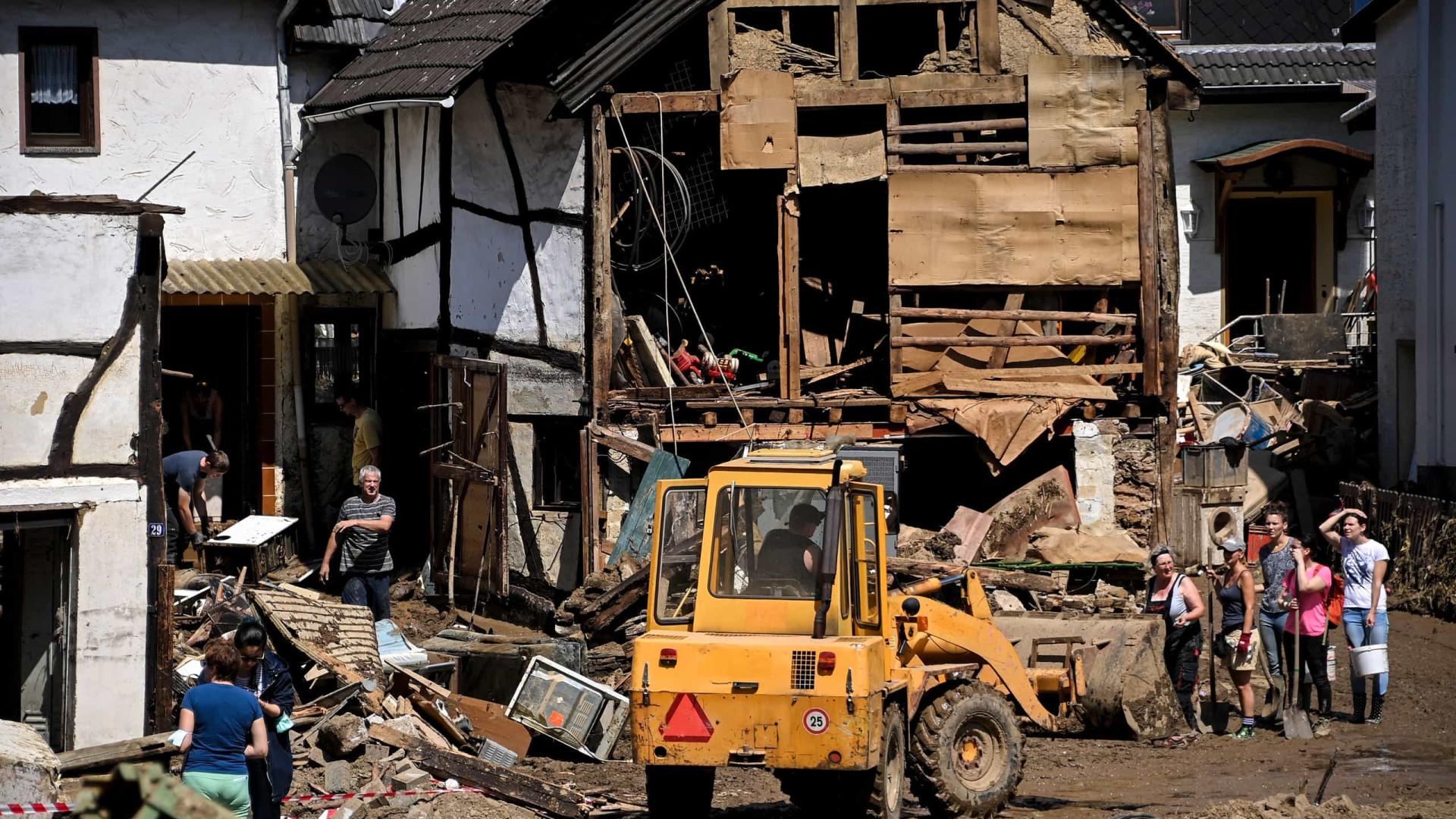 Governo alemão aprova ajuda de 200 milhões para afetados pelas inundações