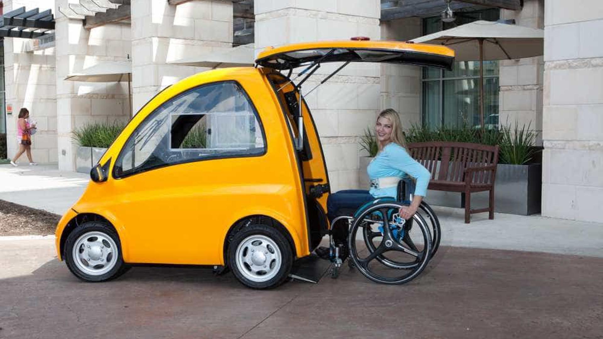 Kenguru, o carro que as pessoas em cadeira de rodas conduzem