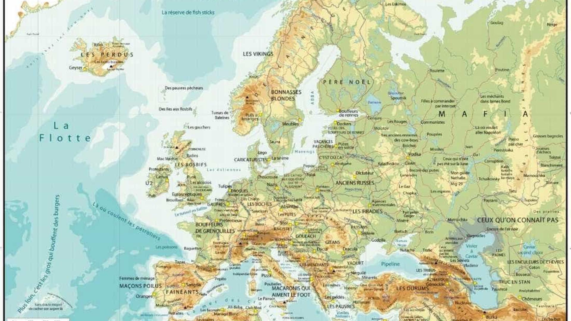 Portugal Fica Com Os Pedreiros Peludos Em Novo Mapa Da Europa